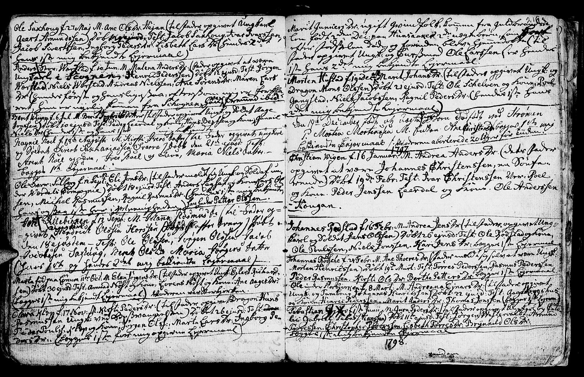 SAT, Ministerialprotokoller, klokkerbøker og fødselsregistre - Nord-Trøndelag, 730/L0273: Ministerialbok nr. 730A02, 1762-1802, s. 219