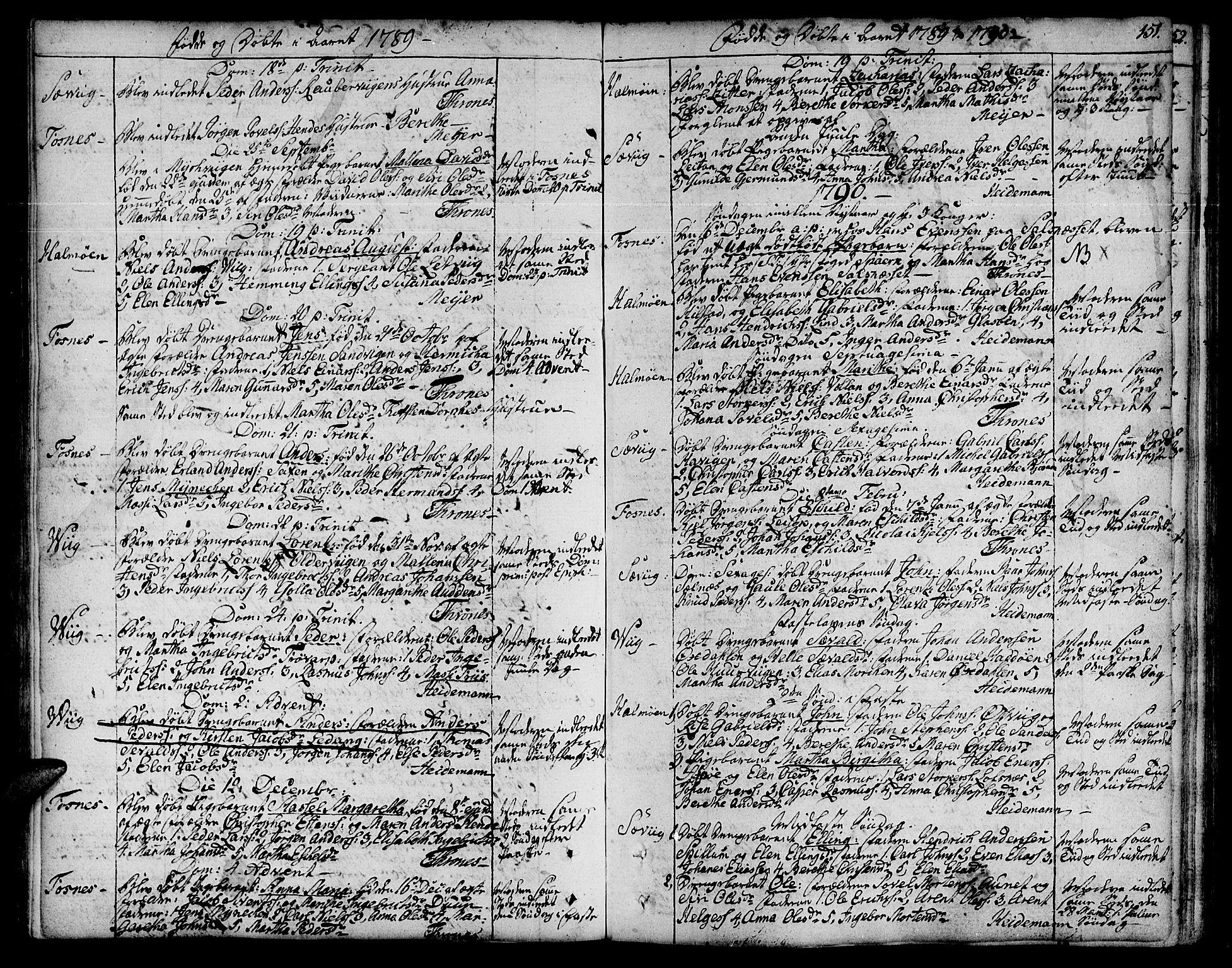 SAT, Ministerialprotokoller, klokkerbøker og fødselsregistre - Nord-Trøndelag, 773/L0608: Ministerialbok nr. 773A02, 1784-1816, s. 151