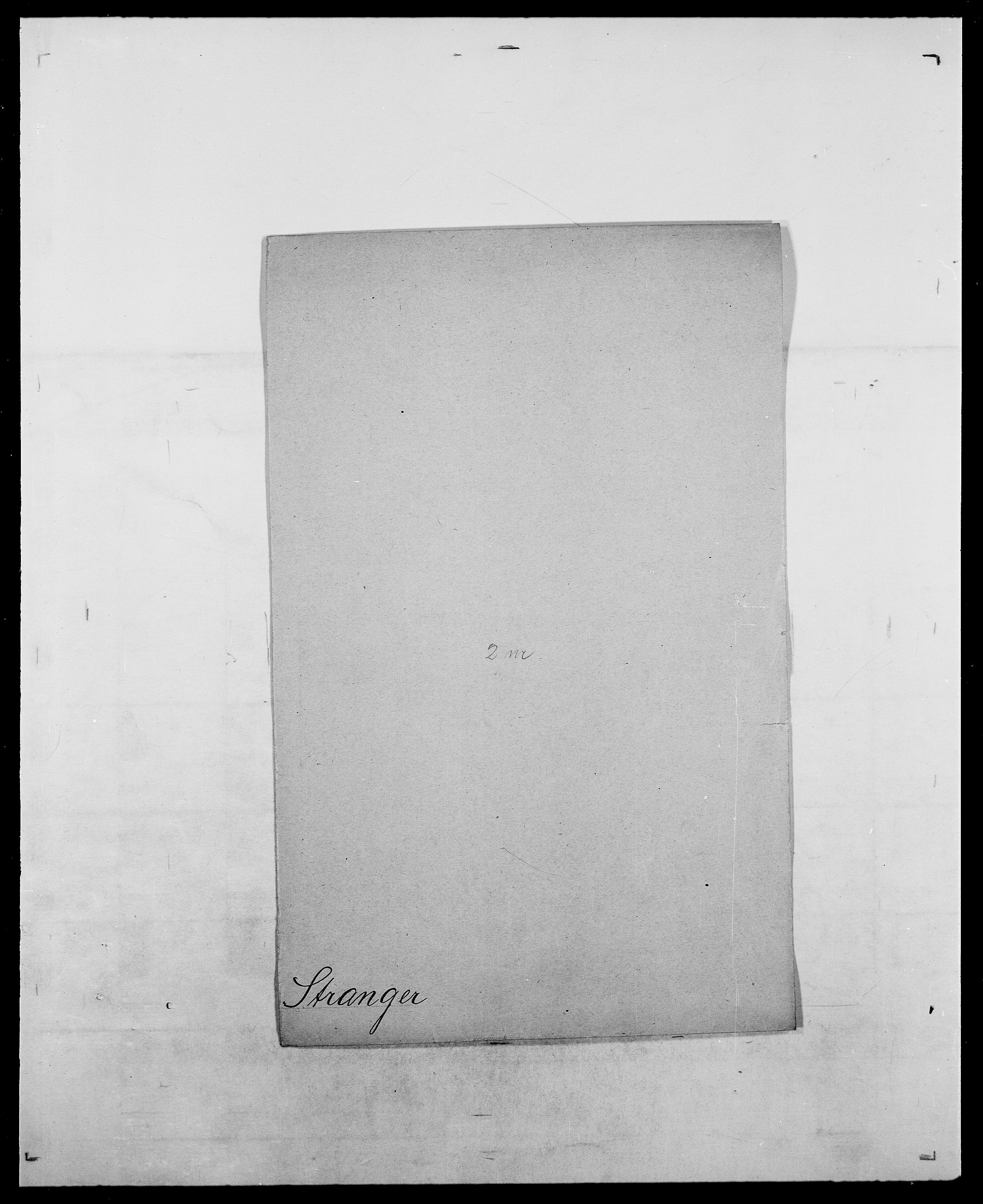 SAO, Delgobe, Charles Antoine - samling, D/Da/L0037: Steen, Sthen, Stein - Svare, Svanige, Svanne, se også Svanning og Schwane, s. 574