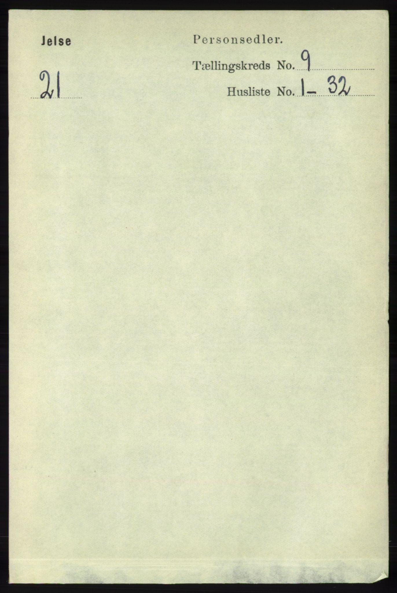 RA, Folketelling 1891 for 1138 Jelsa herred, 1891, s. 2069