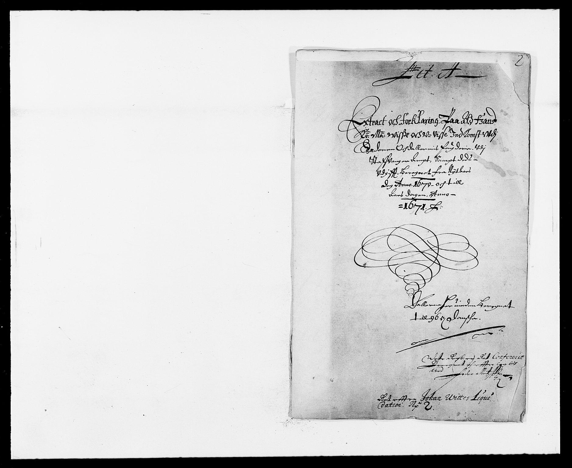 RA, Rentekammeret inntil 1814, Reviderte regnskaper, Fogderegnskap, R46/L2712: Fogderegnskap Jæren og Dalane, 1670-1671, s. 1