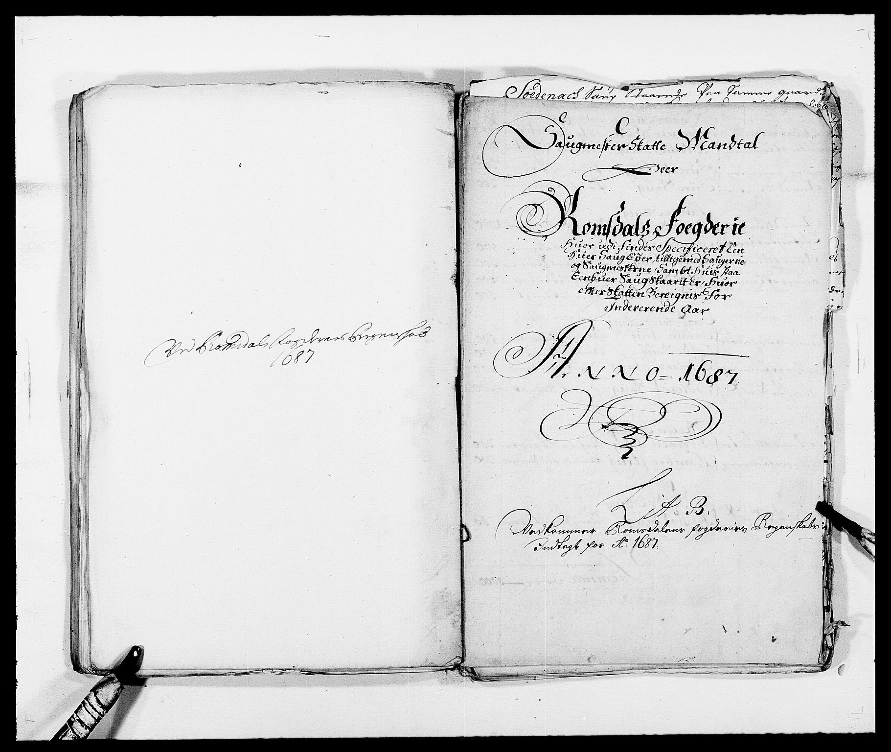 RA, Rentekammeret inntil 1814, Reviderte regnskaper, Fogderegnskap, R55/L3648: Fogderegnskap Romsdal, 1687-1689, s. 61