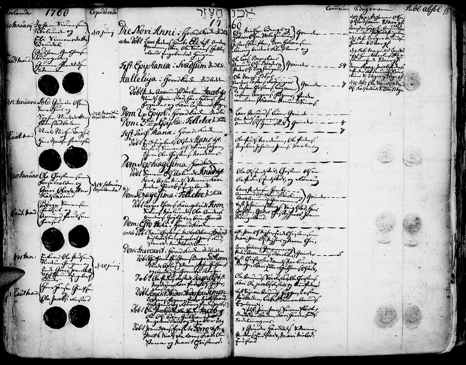 SAH, Gausdal prestekontor, Ministerialbok nr. 3, 1758-1809, s. 18