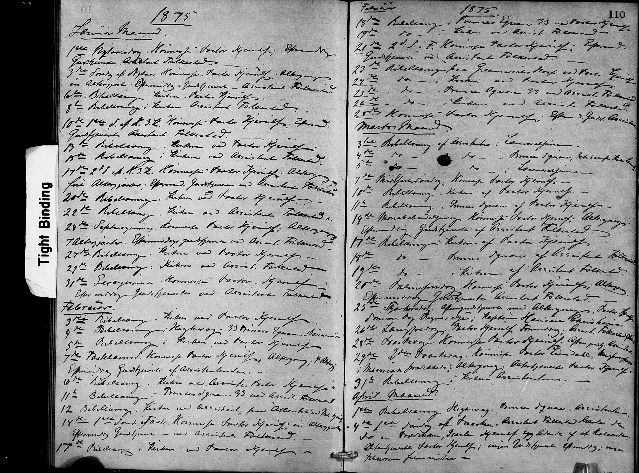SAB, Den Norske Sjømannsmisjon i utlandet*, Ministerialbok nr. A 1, 1868-1887, s. 110