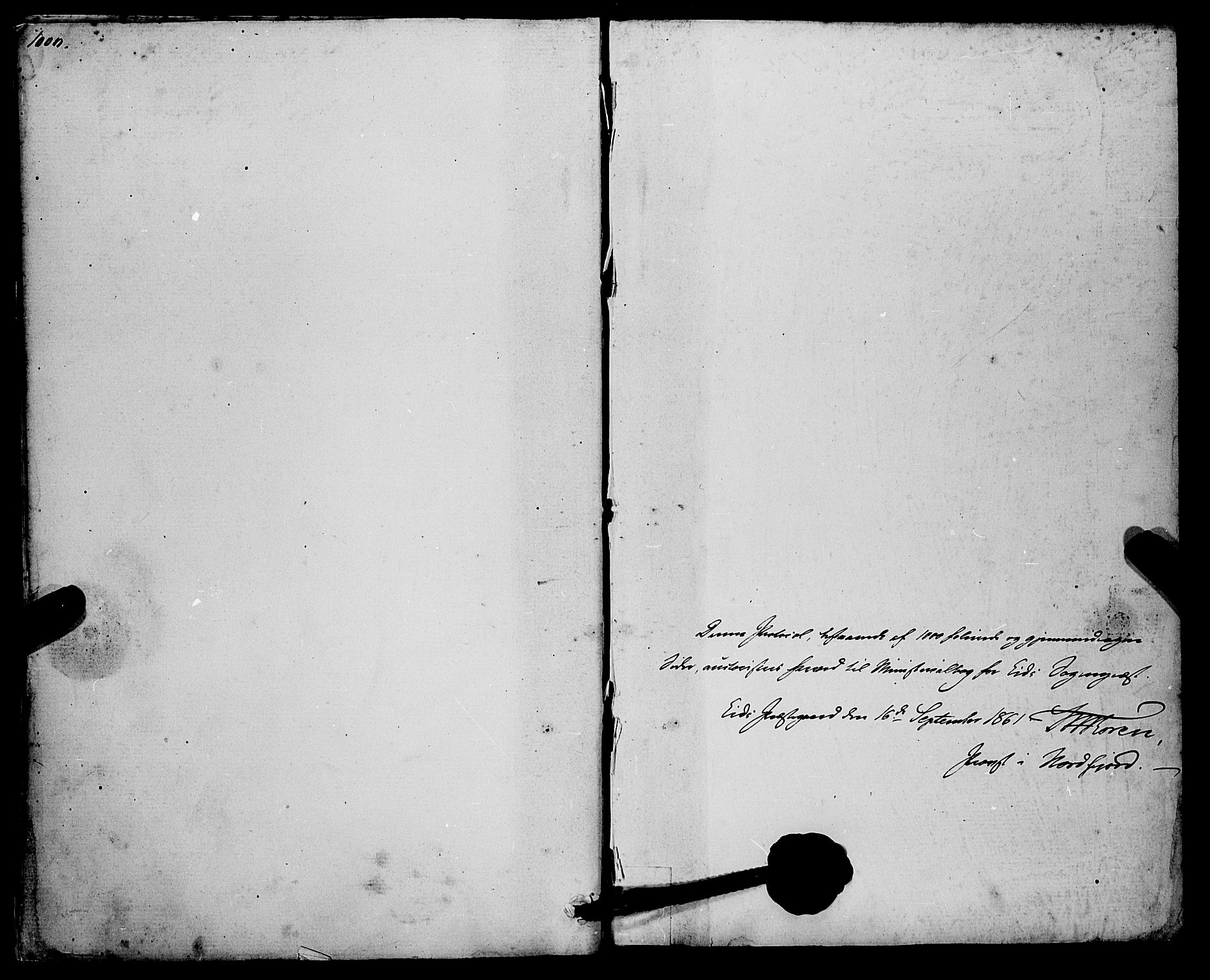SAB, Eid Sokneprestembete, H/Haa: Ministerialbok nr. A 9, 1861-1868, s. 1000-1001