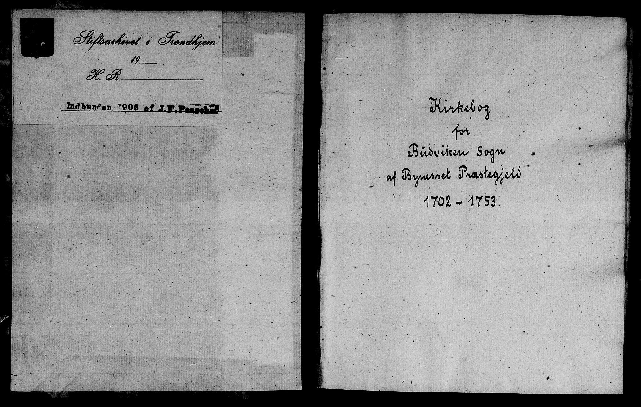 SAT, Ministerialprotokoller, klokkerbøker og fødselsregistre - Sør-Trøndelag, 666/L0783: Ministerialbok nr. 666A01, 1702-1753