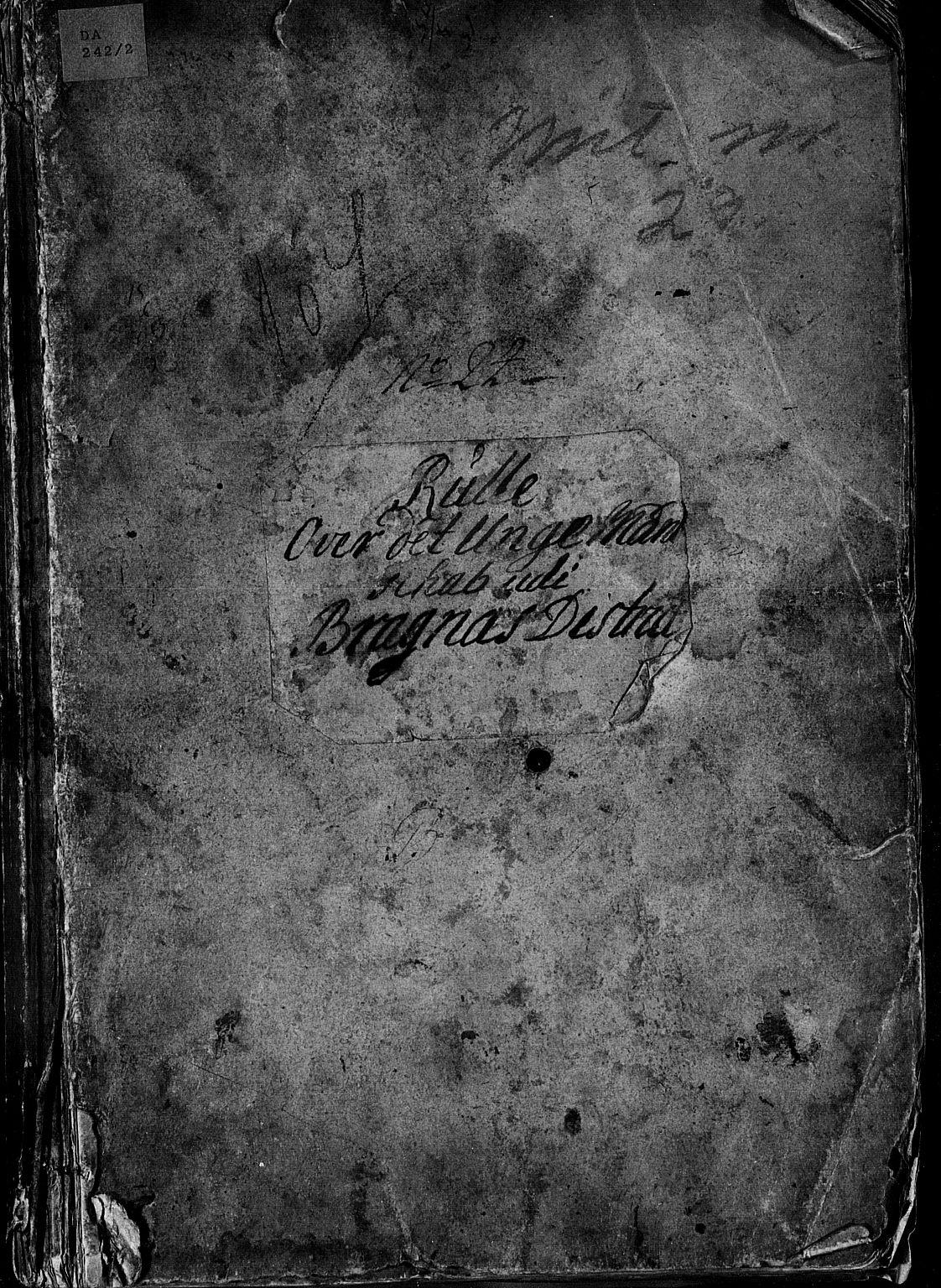 SAKO, Drammen innrulleringsdistrikt, F/Fa/L0005: Ungdomsrulle, 1723-1727, s. 2