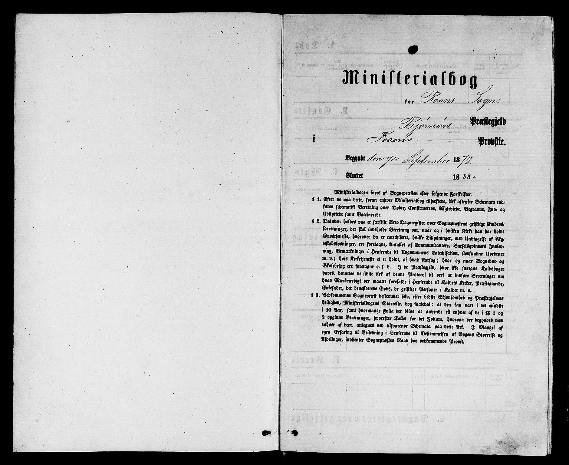 SAT, Ministerialprotokoller, klokkerbøker og fødselsregistre - Sør-Trøndelag, 657/L0715: Klokkerbok nr. 657C02, 1873-1888