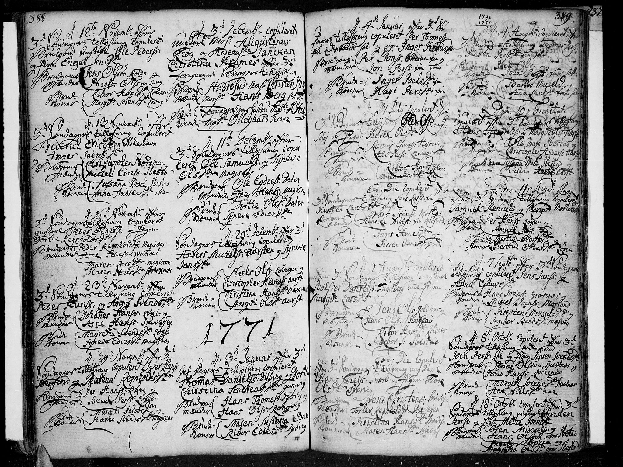 SATØ, Ibestad sokneprestembete, Ministerialbok nr. 2, 1751-1775, s. 388-389