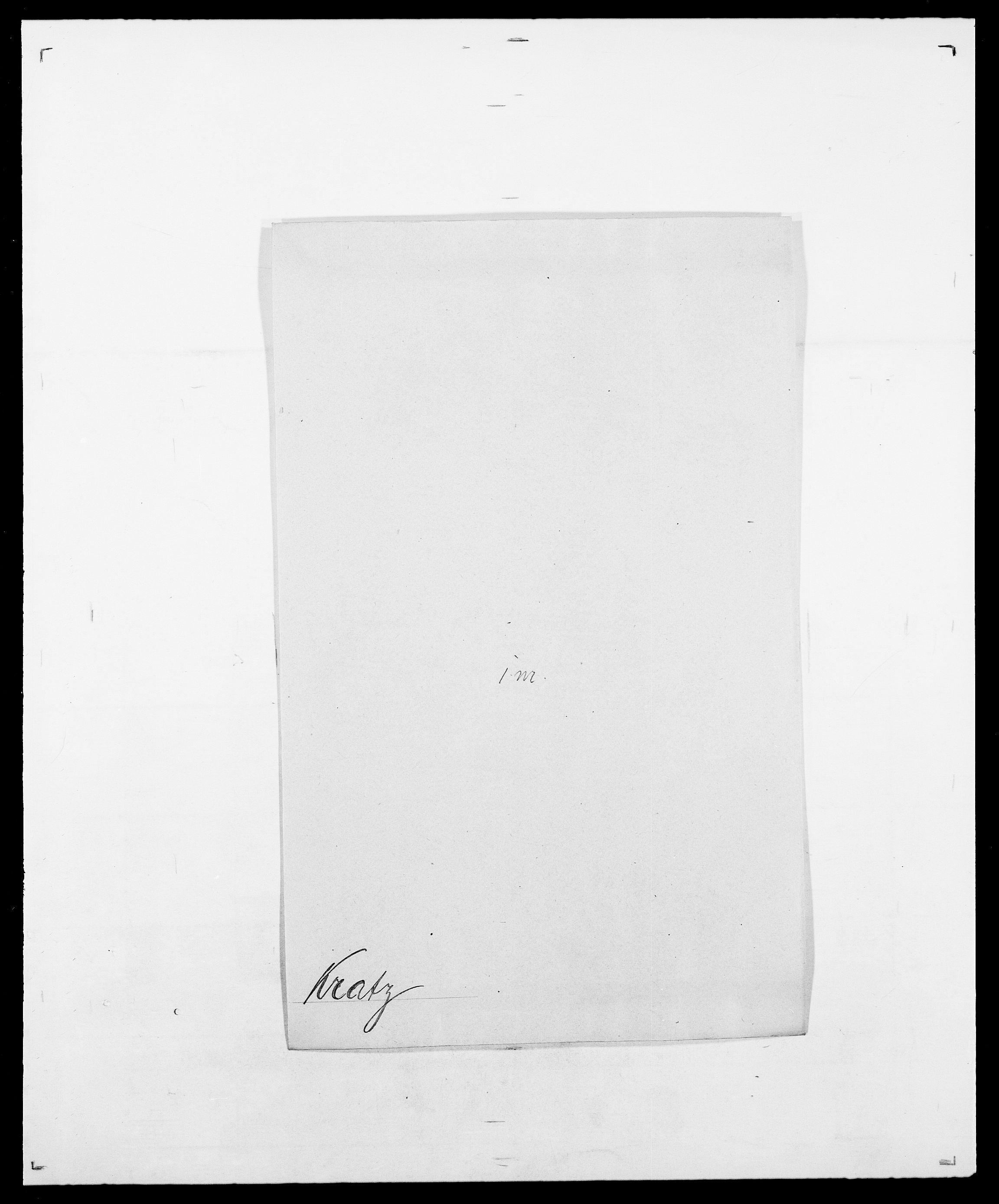 SAO, Delgobe, Charles Antoine - samling, D/Da/L0021: Klagenberg - Kristoft, s. 731