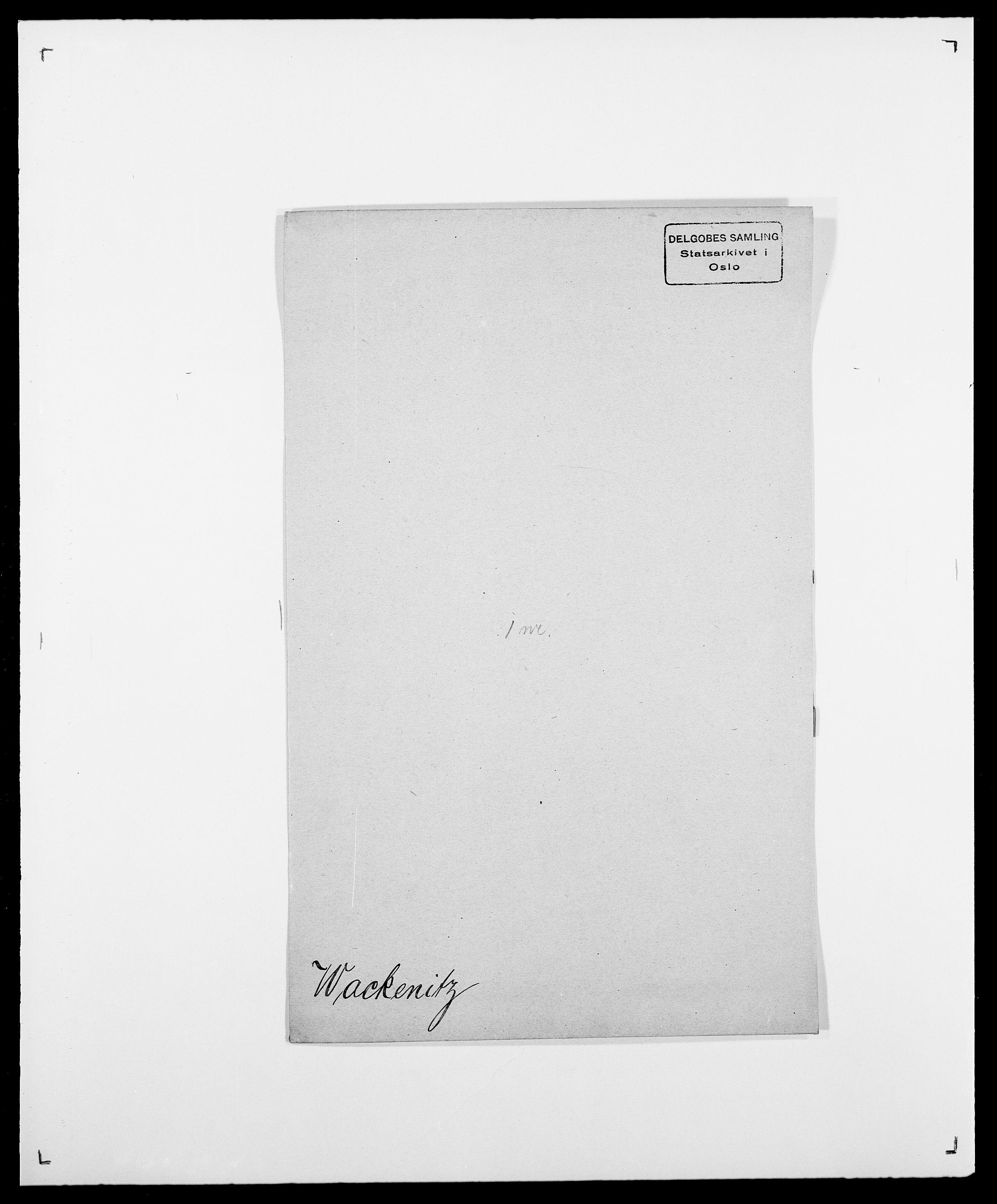 SAO, Delgobe, Charles Antoine - samling, D/Da/L0040: Usgaard - Velund, s. 71
