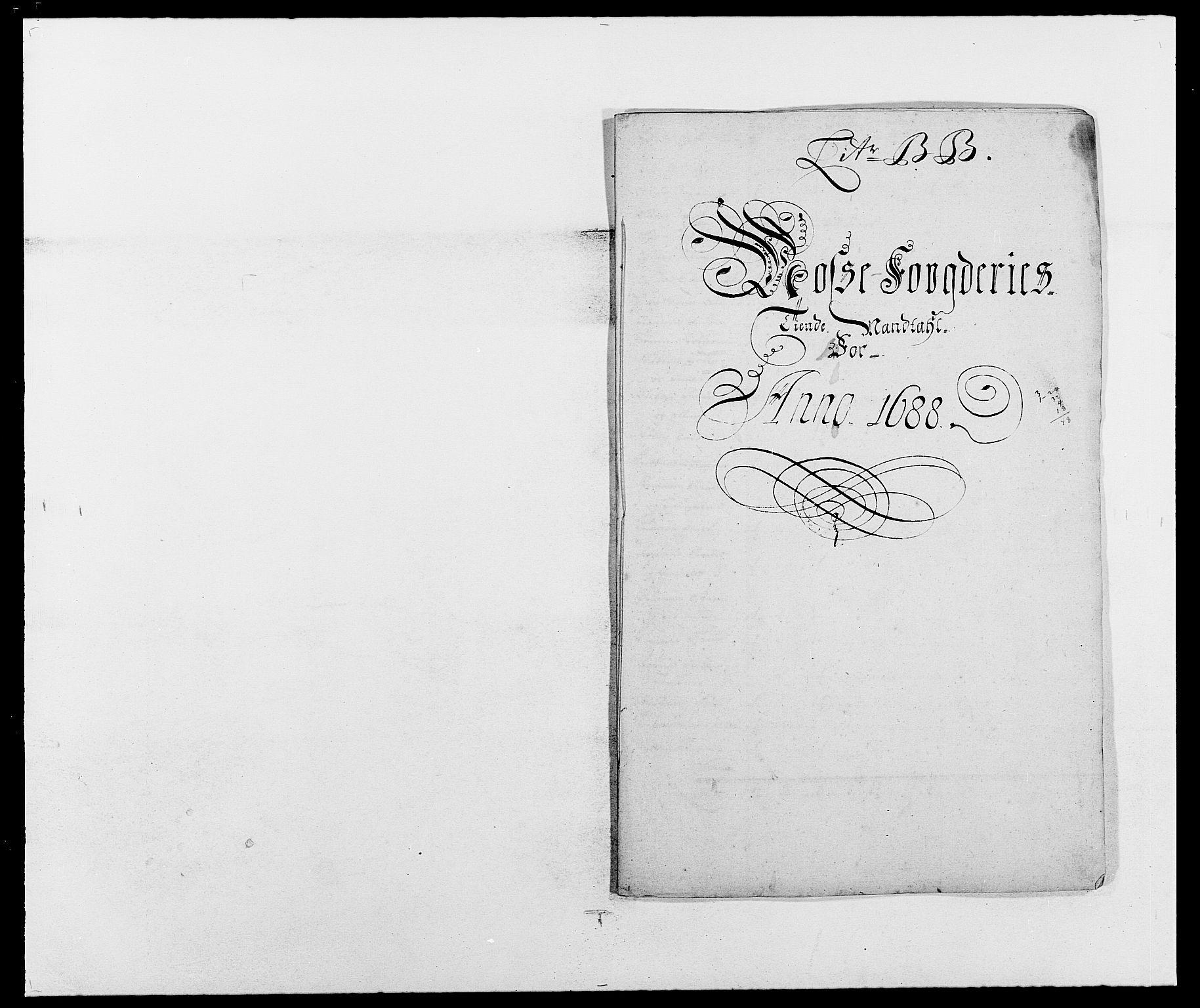 RA, Rentekammeret inntil 1814, Reviderte regnskaper, Fogderegnskap, R02/L0106: Fogderegnskap Moss og Verne kloster, 1688-1691, s. 42