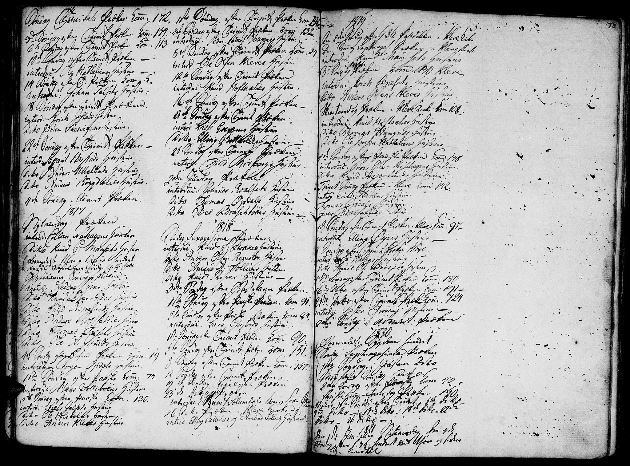 SAT, Ministerialprotokoller, klokkerbøker og fødselsregistre - Møre og Romsdal, 555/L0650: Ministerialbok nr. 555A02 /2, 1798-1821, s. 78
