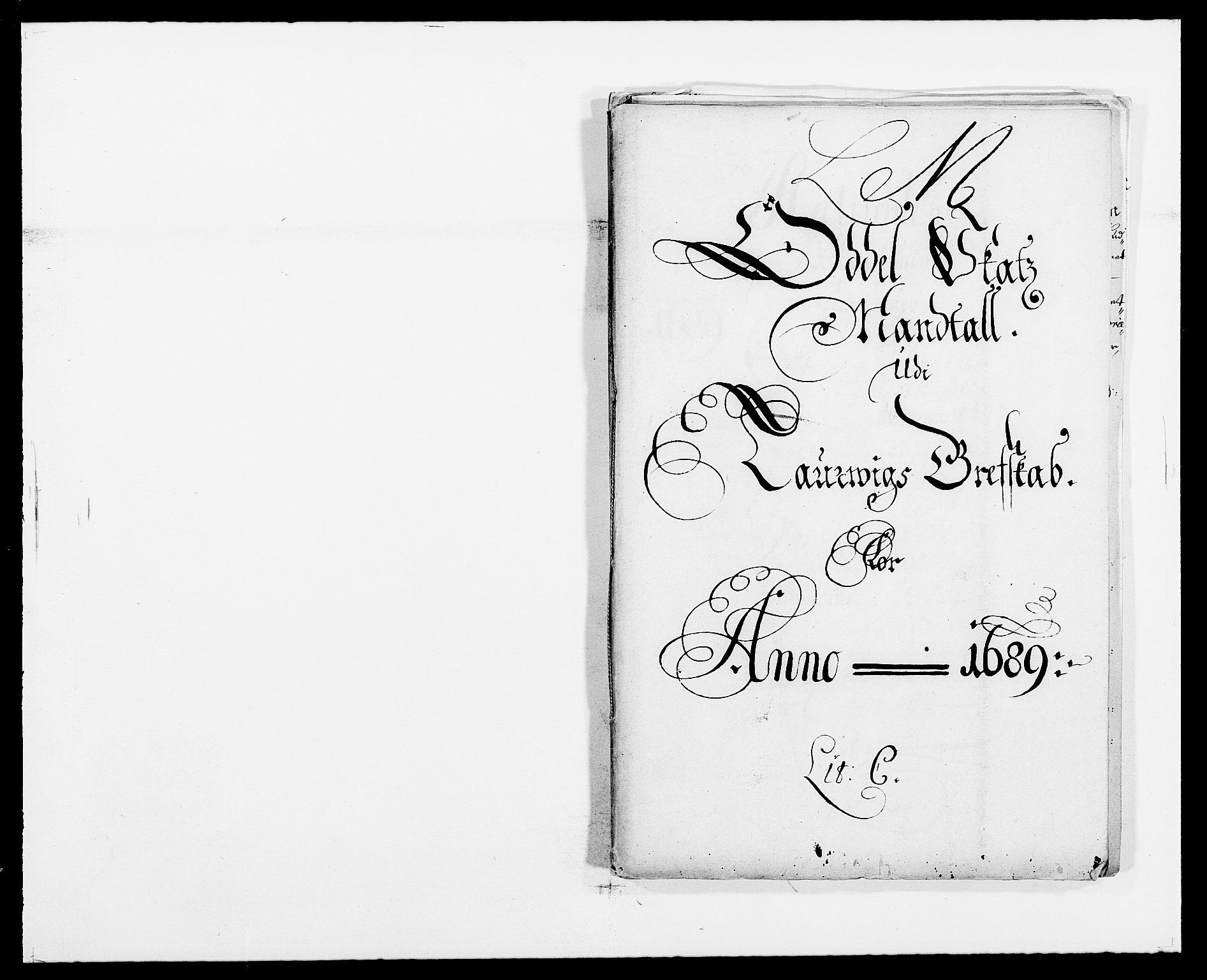 RA, Rentekammeret inntil 1814, Reviderte regnskaper, Fogderegnskap, R33/L1971: Fogderegnskap Larvik grevskap, 1688-1689, s. 208
