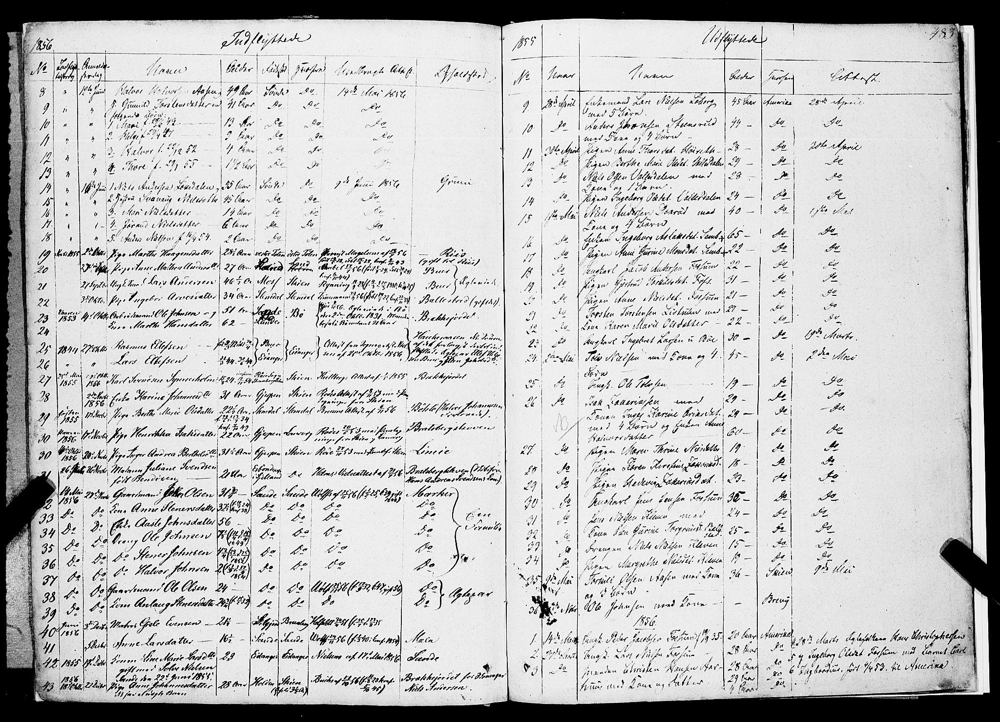 SAKO, Gjerpen kirkebøker, F/Fa/L0007b: Ministerialbok nr. 7B, 1834-1857, s. 483
