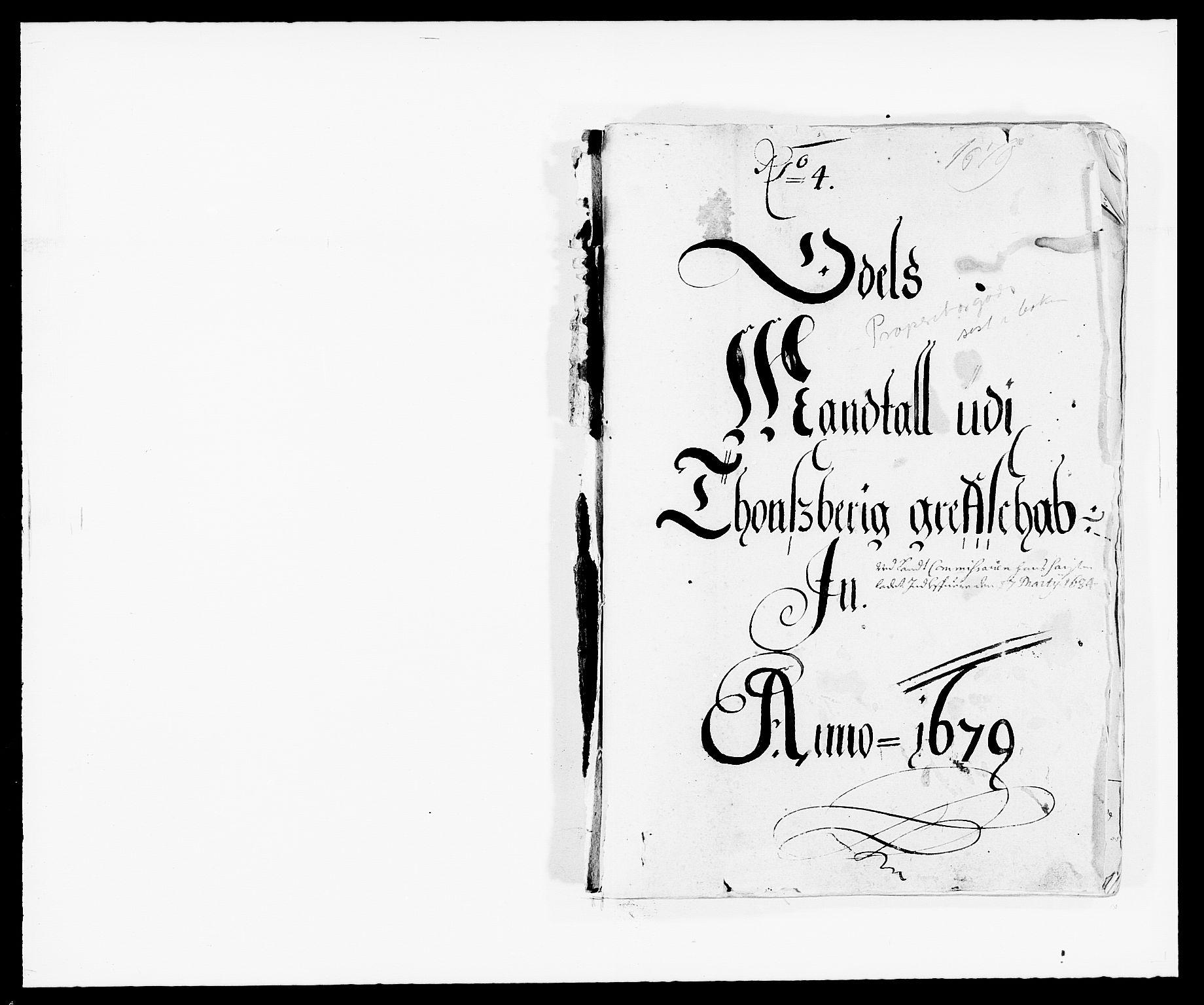 RA, Rentekammeret inntil 1814, Reviderte regnskaper, Fogderegnskap, R32/L1846: Fogderegnskap Jarlsberg grevskap, 1679-1680, s. 289