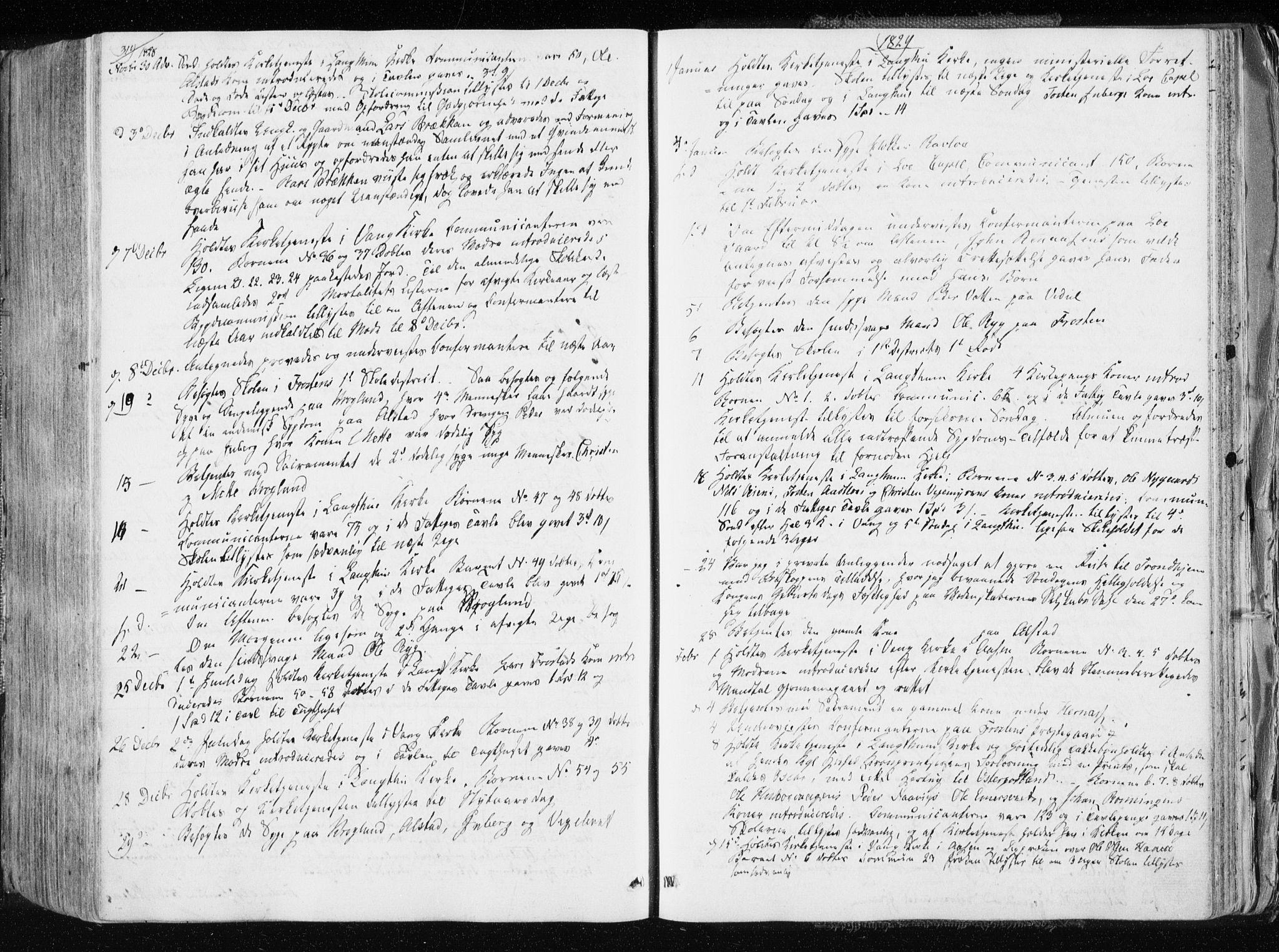 SAT, Ministerialprotokoller, klokkerbøker og fødselsregistre - Nord-Trøndelag, 713/L0114: Ministerialbok nr. 713A05, 1827-1839, s. 319