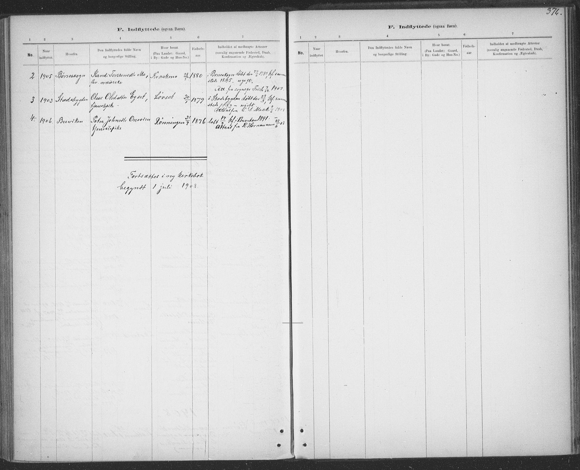 SAT, Ministerialprotokoller, klokkerbøker og fødselsregistre - Sør-Trøndelag, 691/L1085: Ministerialbok nr. 691A17, 1887-1908, s. 376