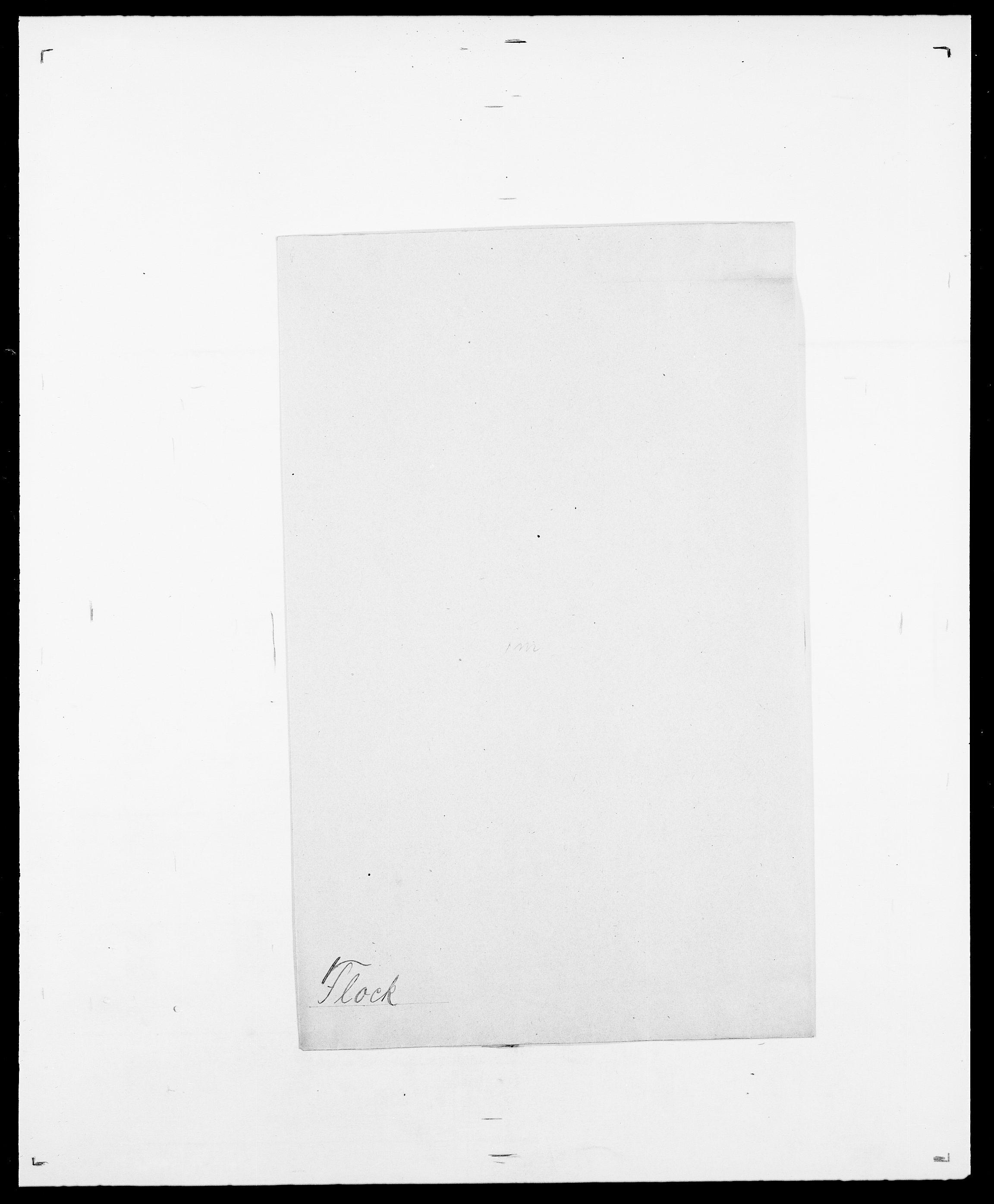 SAO, Delgobe, Charles Antoine - samling, D/Da/L0011: Fahlander - Flood, Flod, s. 683