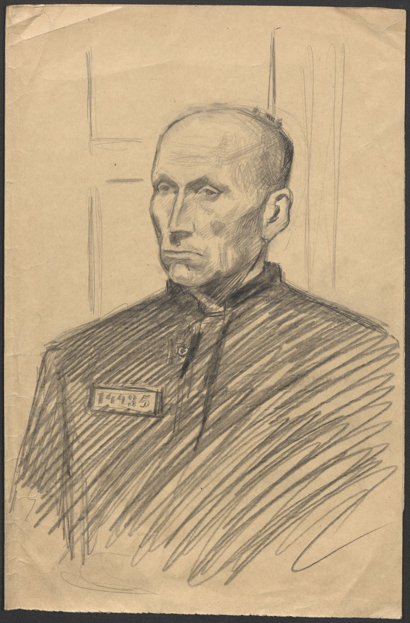 RA, Grøgaard, Joachim, F/L0002: Tegninger og tekster, 1942-1945, s. 130