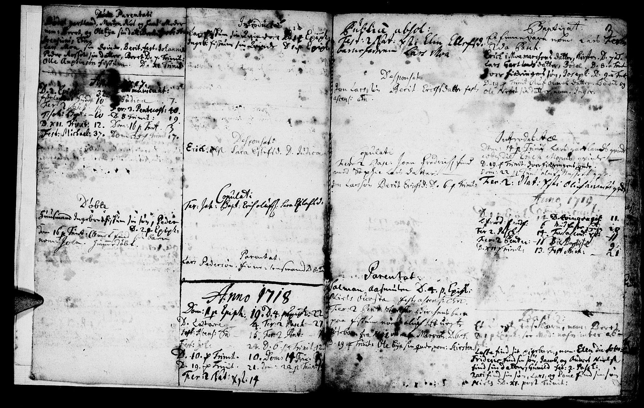 SAT, Ministerialprotokoller, klokkerbøker og fødselsregistre - Nord-Trøndelag, 759/L0525: Ministerialbok nr. 759A01, 1706-1748, s. 3