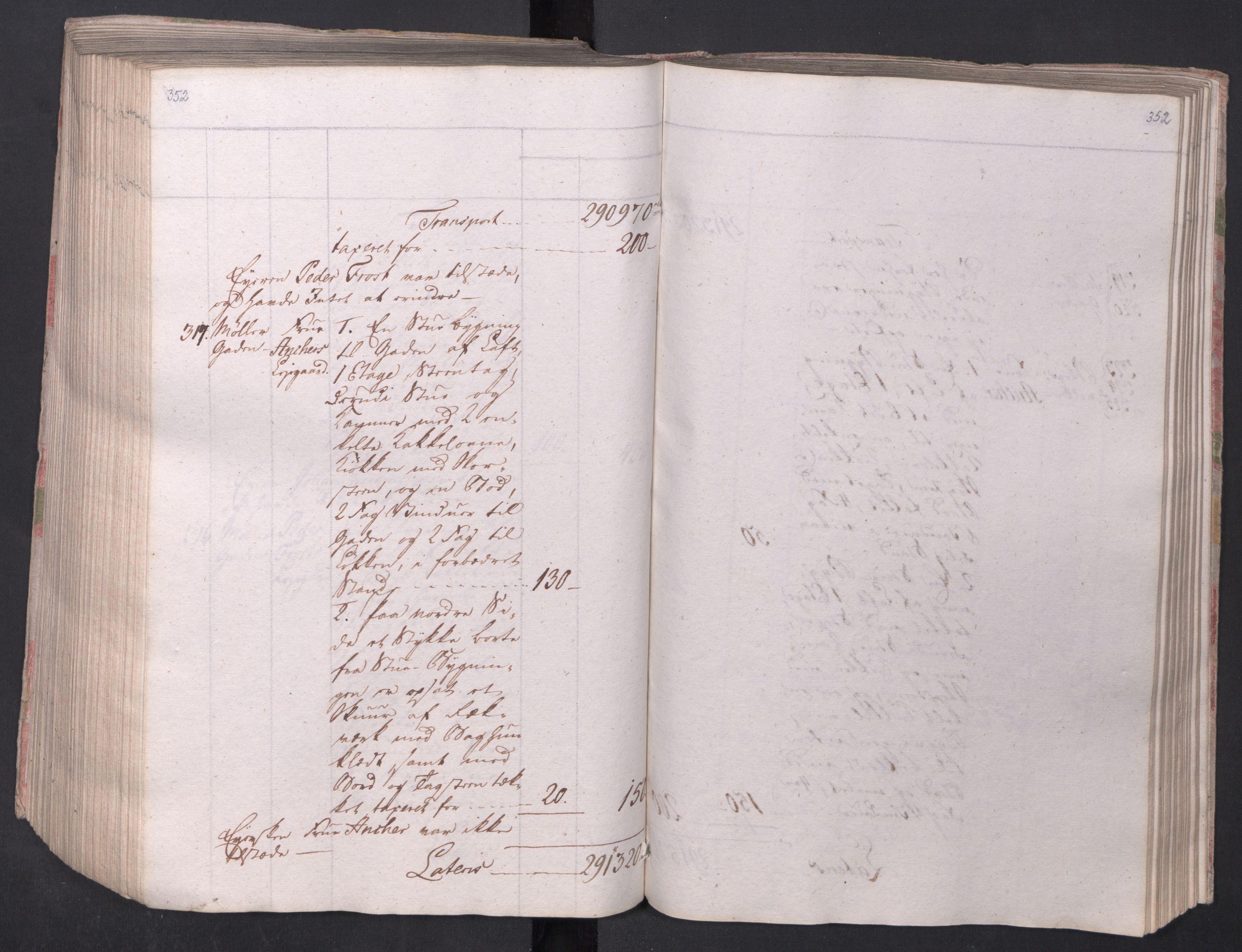 SAO, Kristiania stiftamt, I/Ia/L0015: Branntakster, 1797, s. 352