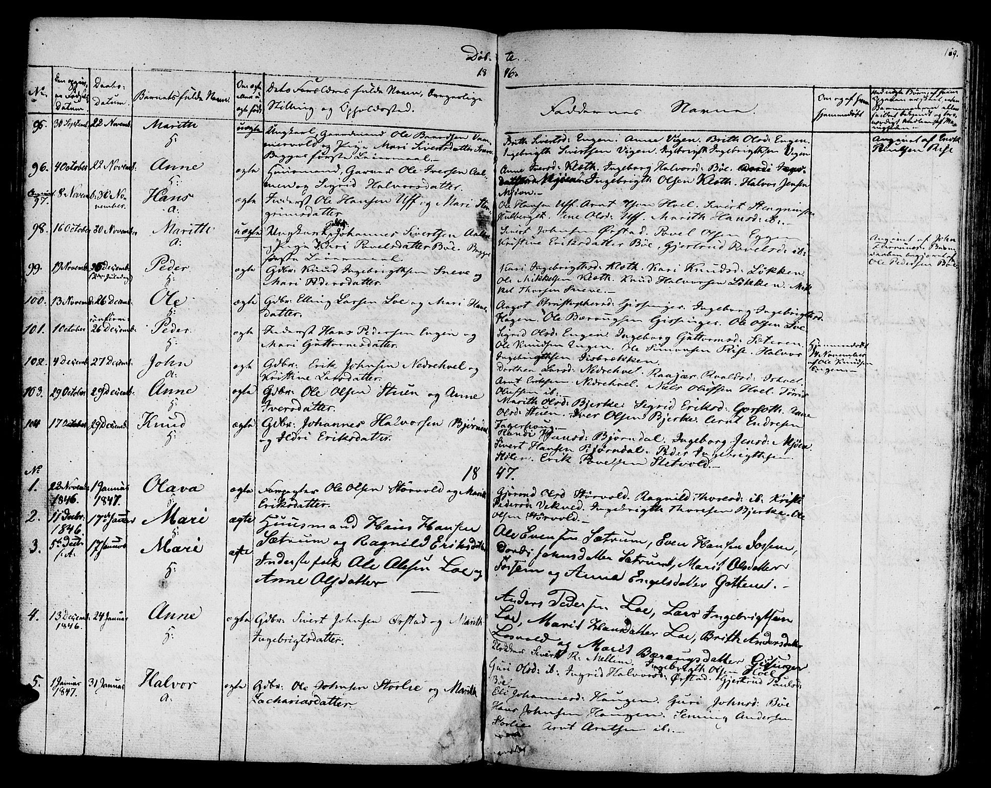 SAT, Ministerialprotokoller, klokkerbøker og fødselsregistre - Sør-Trøndelag, 678/L0897: Ministerialbok nr. 678A06-07, 1821-1847, s. 169