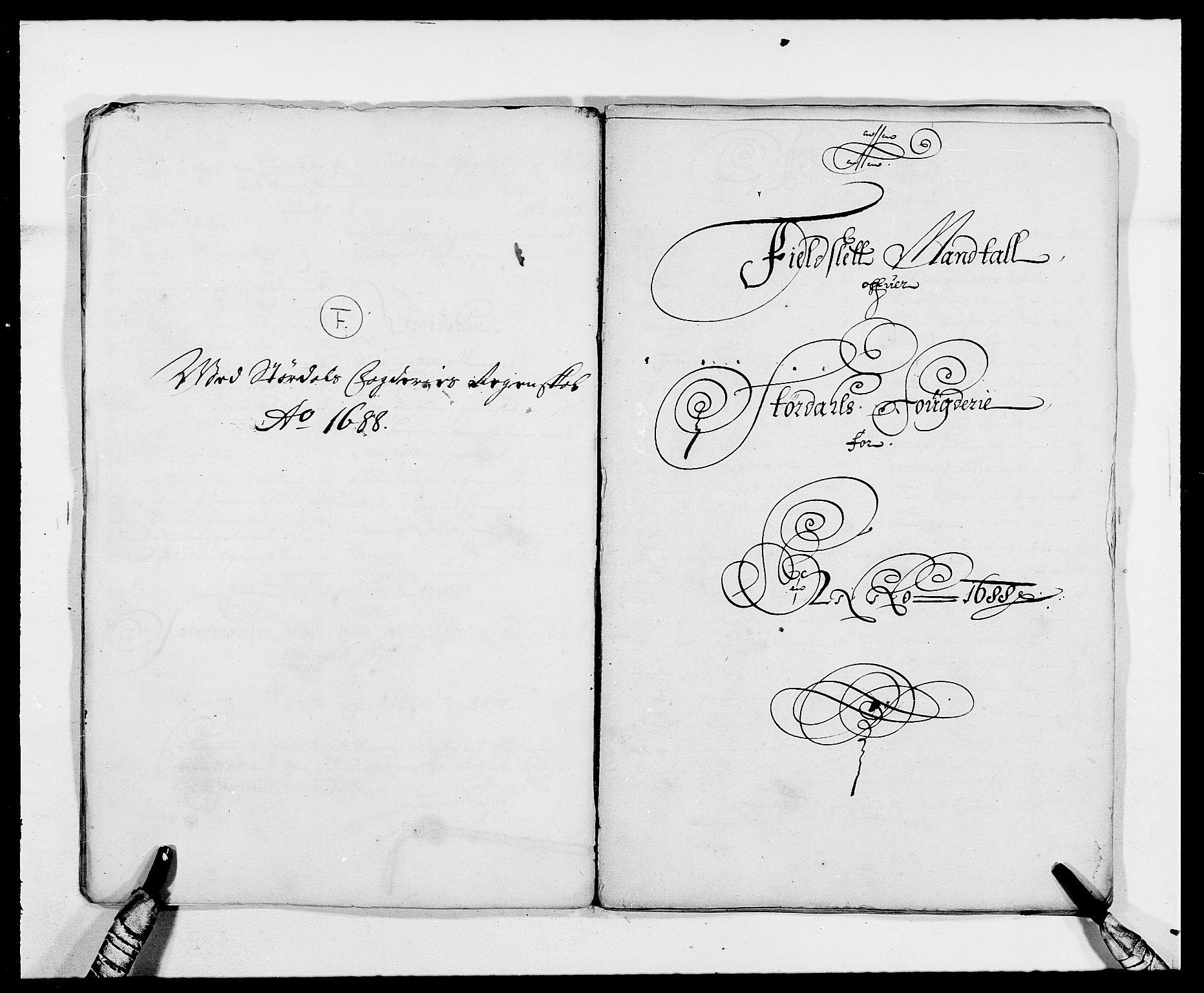 RA, Rentekammeret inntil 1814, Reviderte regnskaper, Fogderegnskap, R62/L4183: Fogderegnskap Stjørdal og Verdal, 1687-1689, s. 219