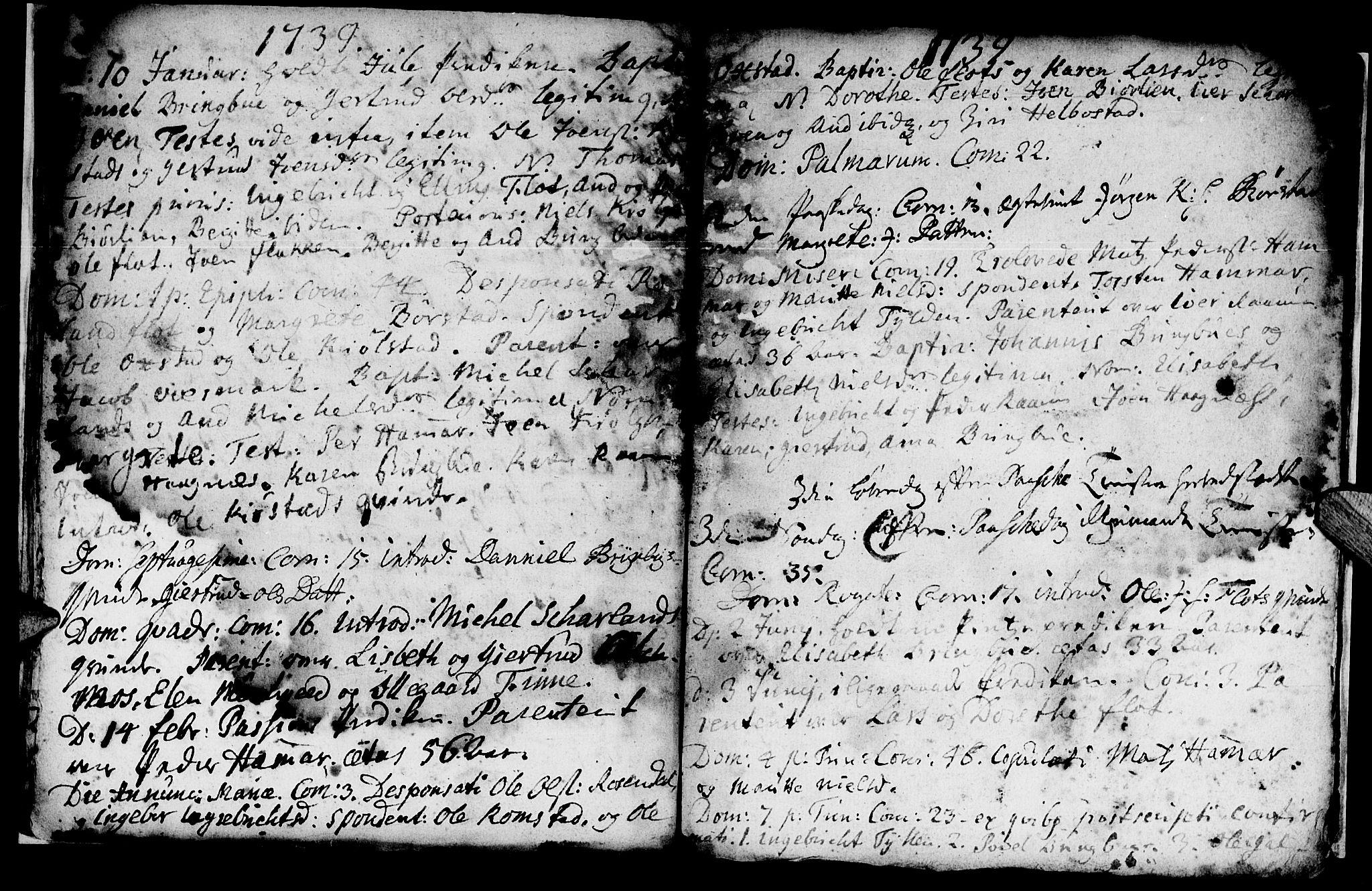 SAT, Ministerialprotokoller, klokkerbøker og fødselsregistre - Nord-Trøndelag, 765/L0560: Ministerialbok nr. 765A01, 1706-1748, s. 22