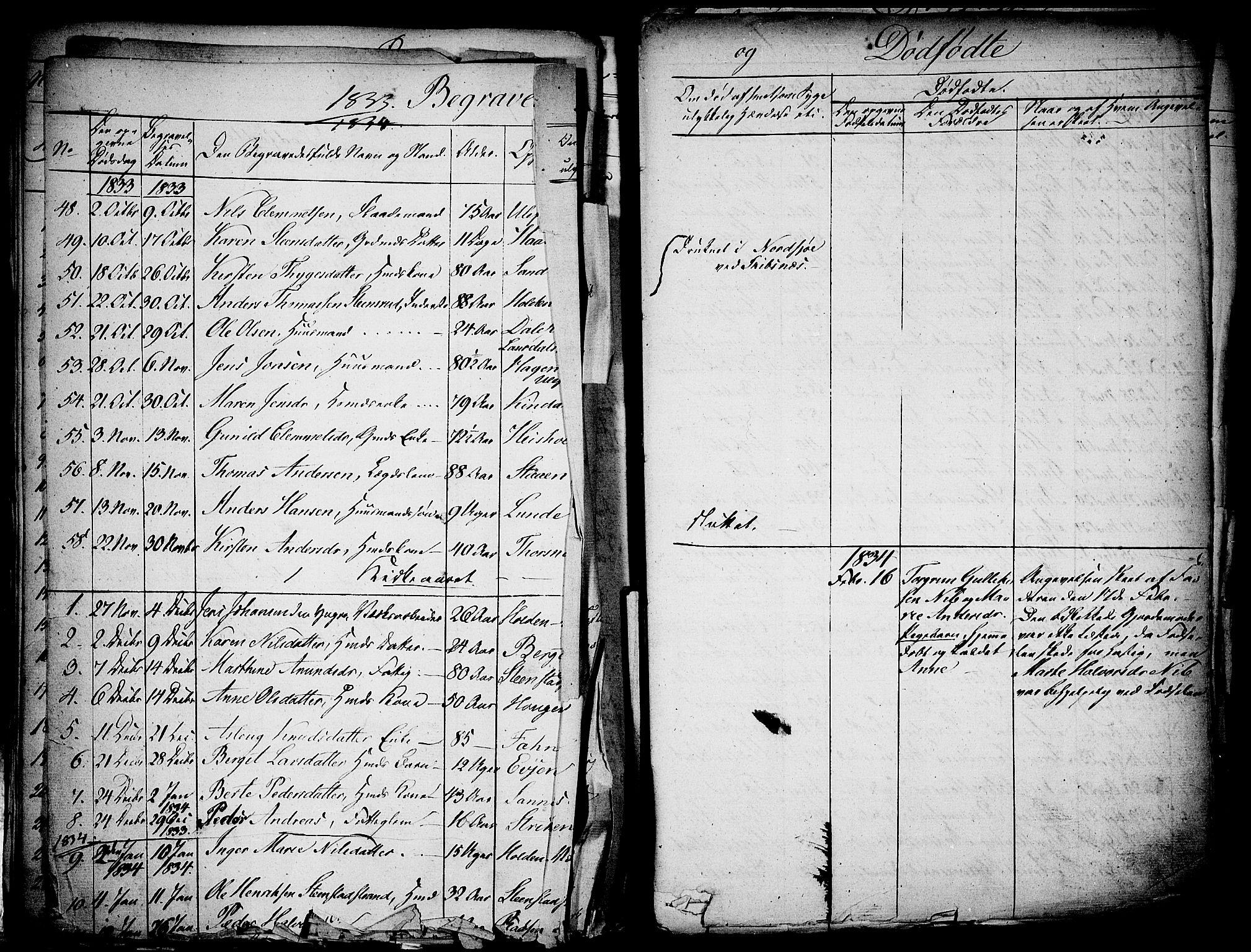 SAKO, Holla kirkebøker, F/Fa/L0004: Ministerialbok nr. 4, 1830-1848, s. 363