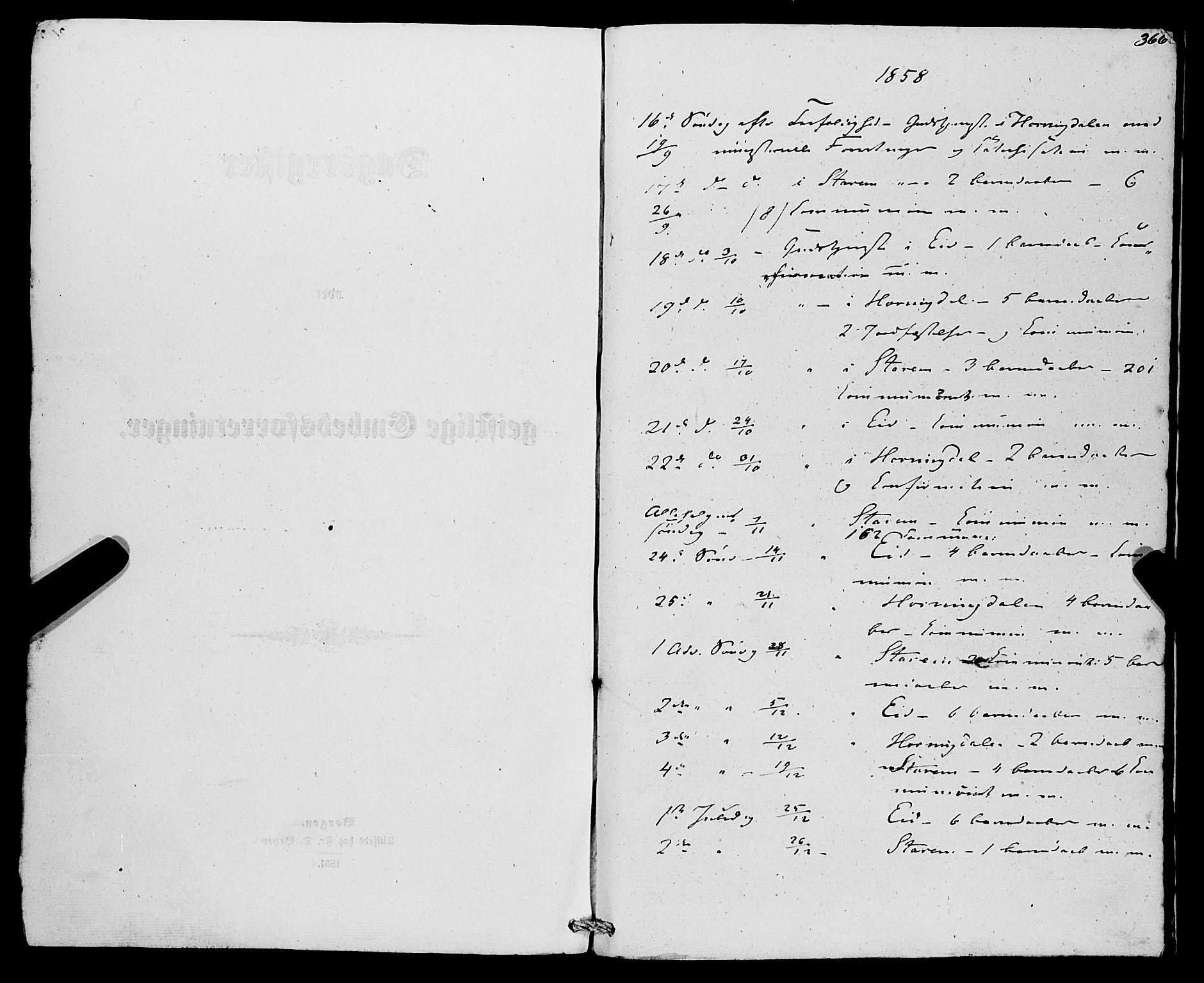 SAB, Eid Sokneprestembete, H/Haa: Ministerialbok nr. A 8, 1858-1860, s. 366