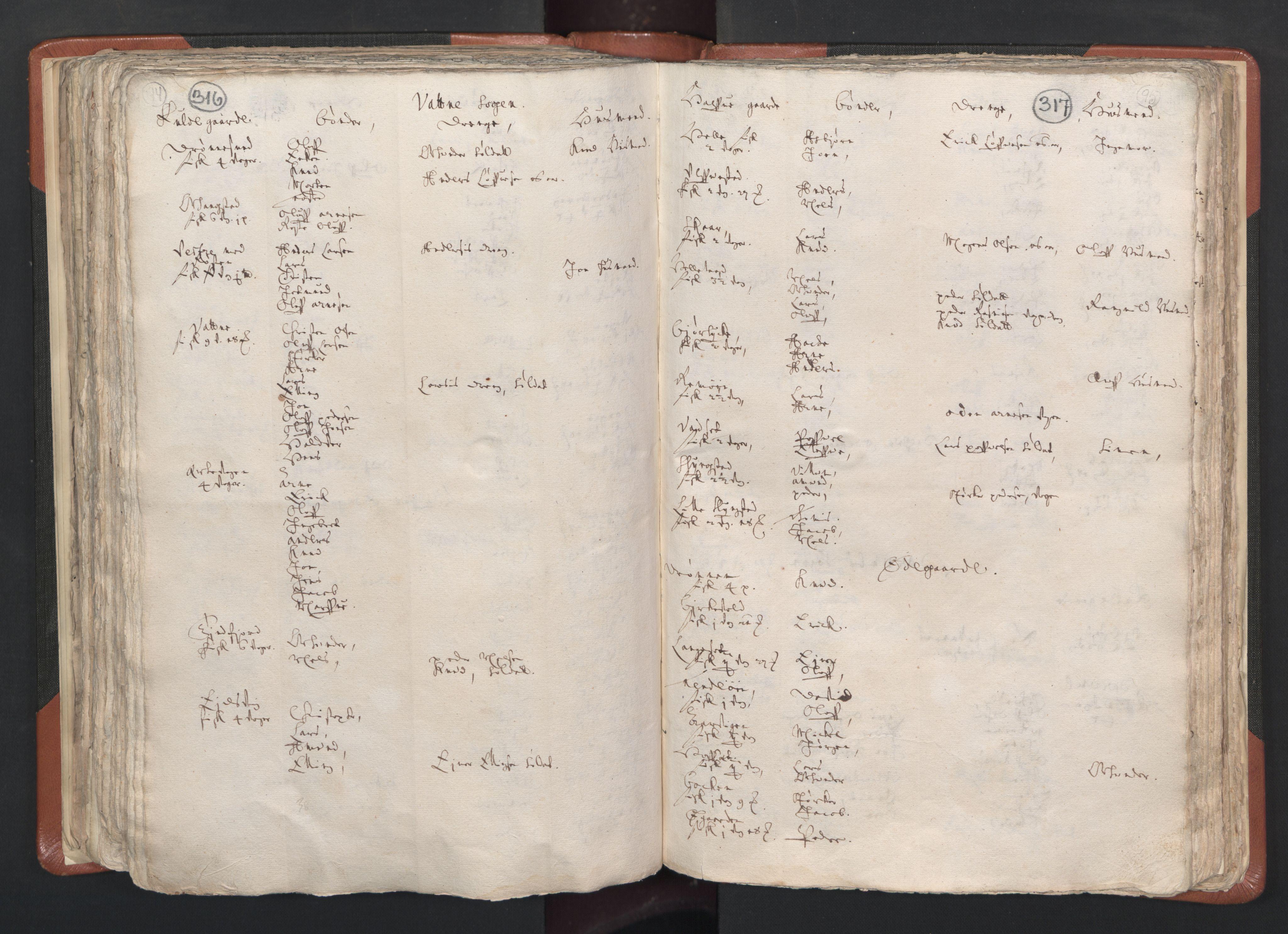 RA, Sogneprestenes manntall 1664-1666, nr. 26: Sunnmøre prosti, 1664-1666, s. 316-317