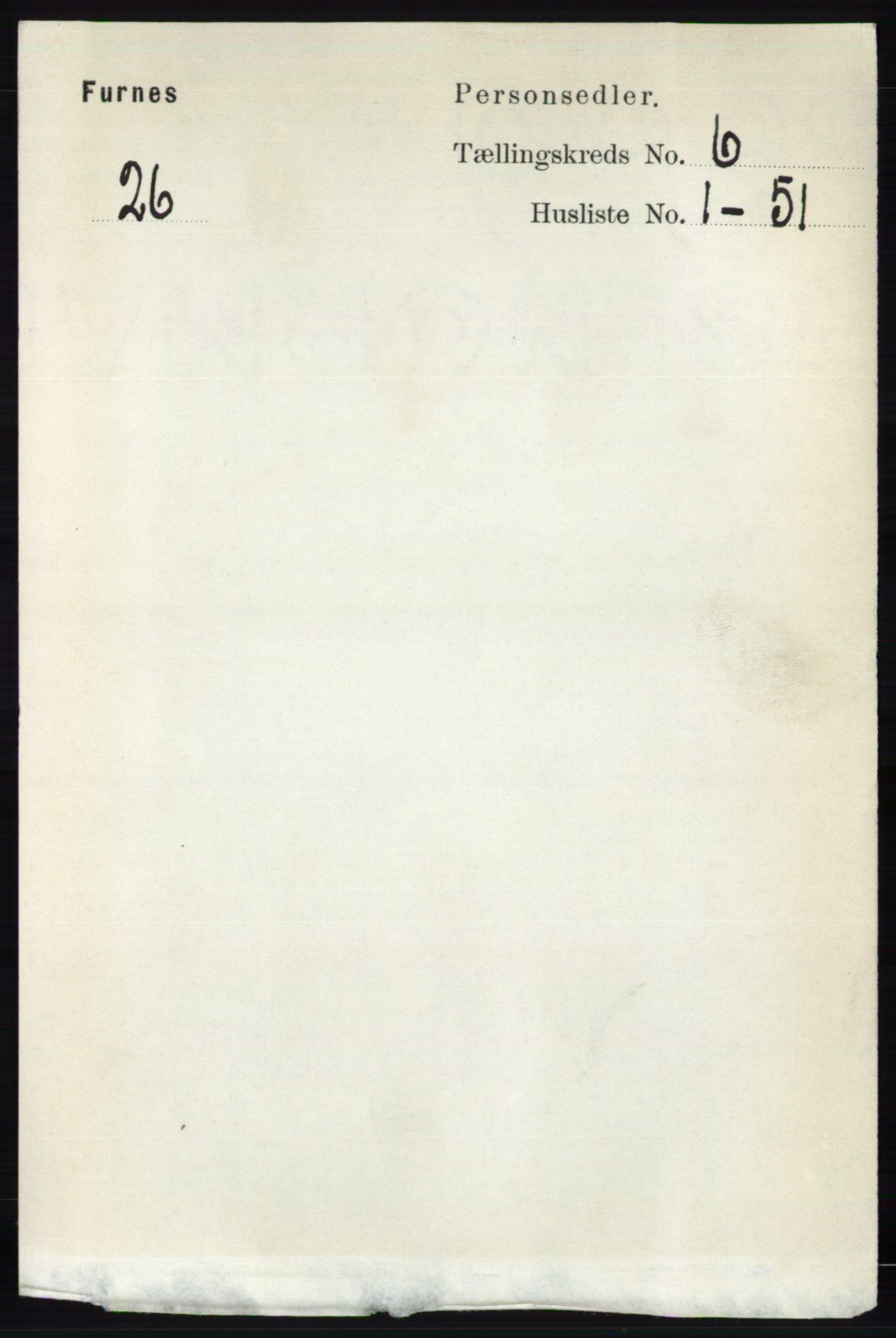 RA, Folketelling 1891 for 0413 Furnes herred, 1891, s. 4159