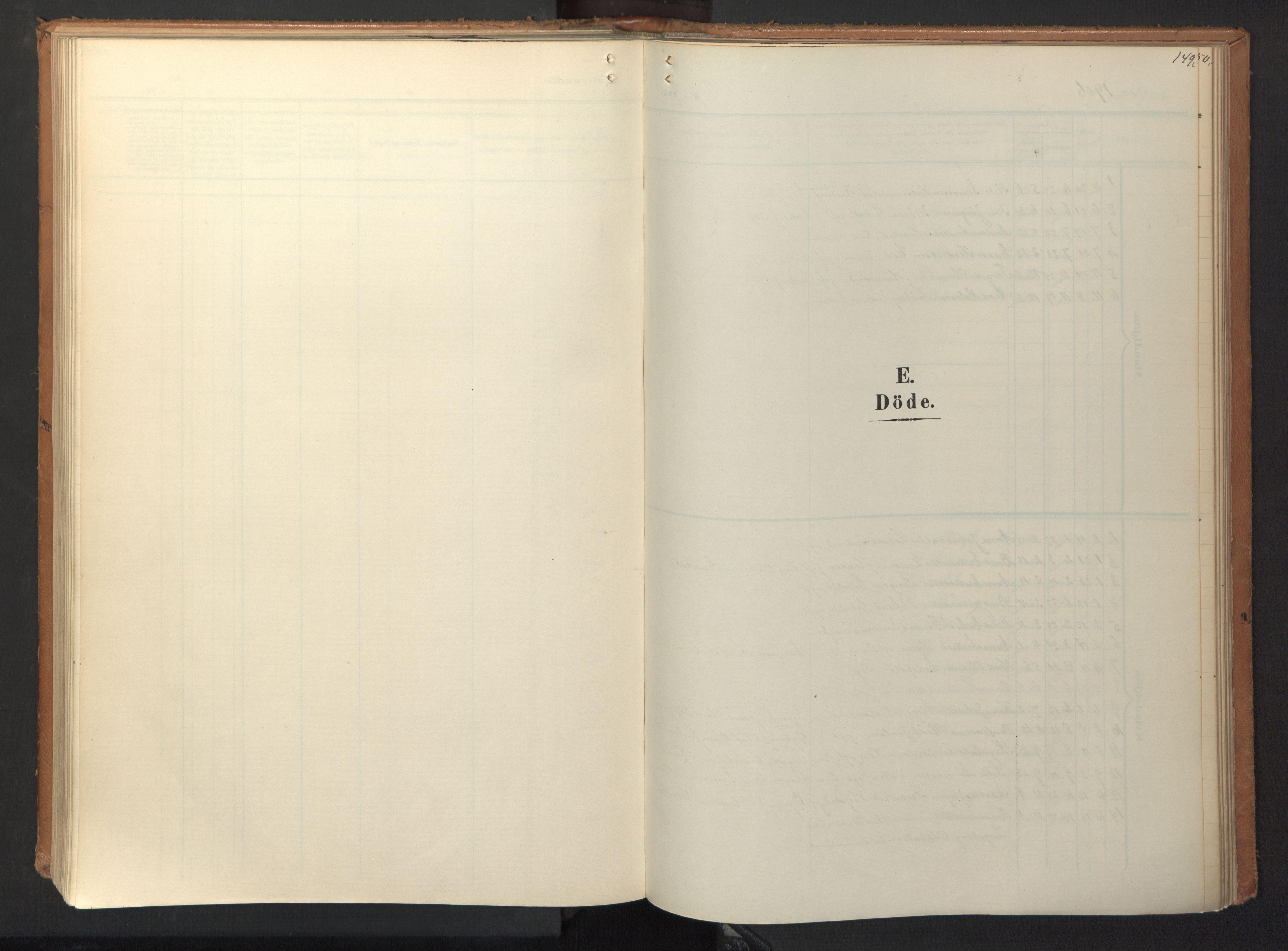 SAT, Ministerialprotokoller, klokkerbøker og fødselsregistre - Sør-Trøndelag, 694/L1128: Ministerialbok nr. 694A02, 1906-1931, s. 149