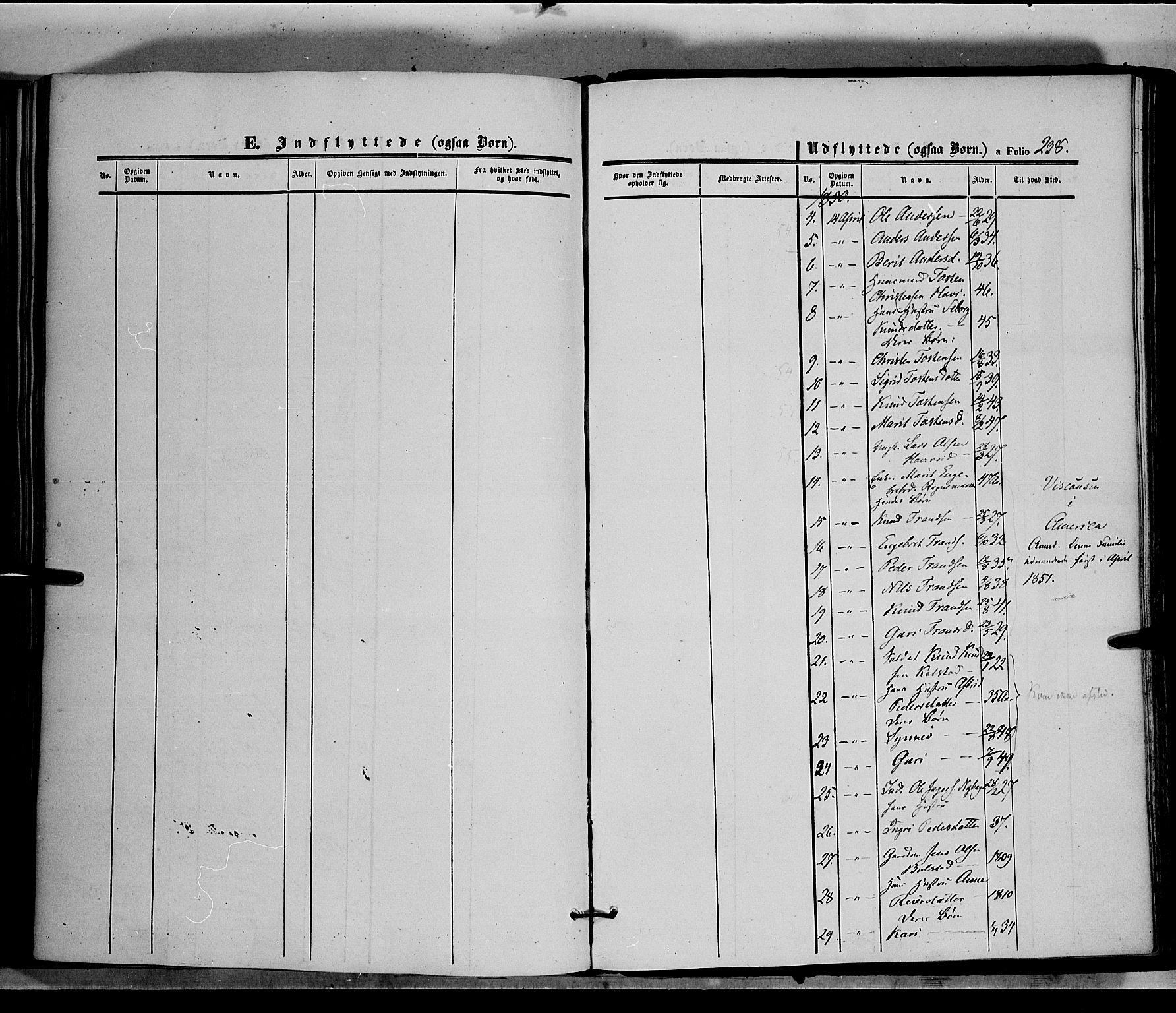 SAH, Øystre Slidre prestekontor, Ministerialbok nr. 1, 1849-1874, s. 238