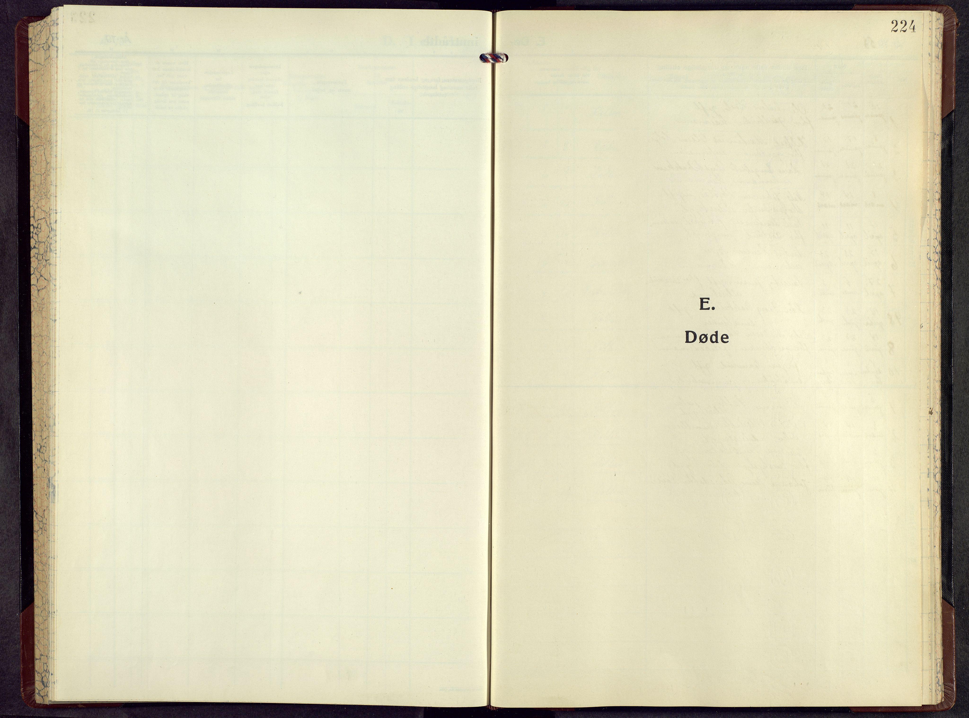 SAH, Kolbu prestekontor, Klokkerbok nr. 5, 1953-1966, s. 224