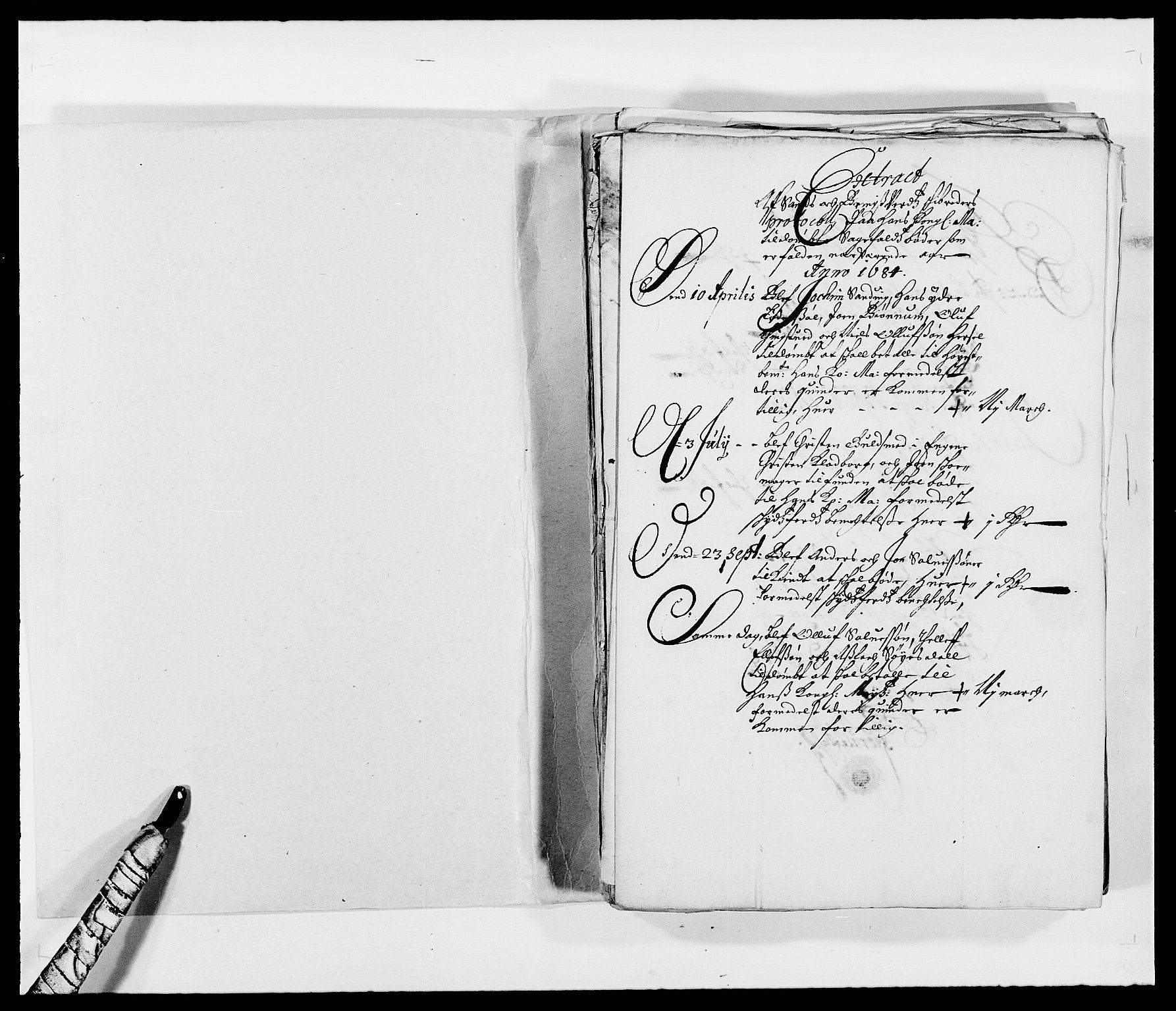 RA, Rentekammeret inntil 1814, Reviderte regnskaper, Fogderegnskap, R39/L2308: Fogderegnskap Nedenes, 1684-1689, s. 14