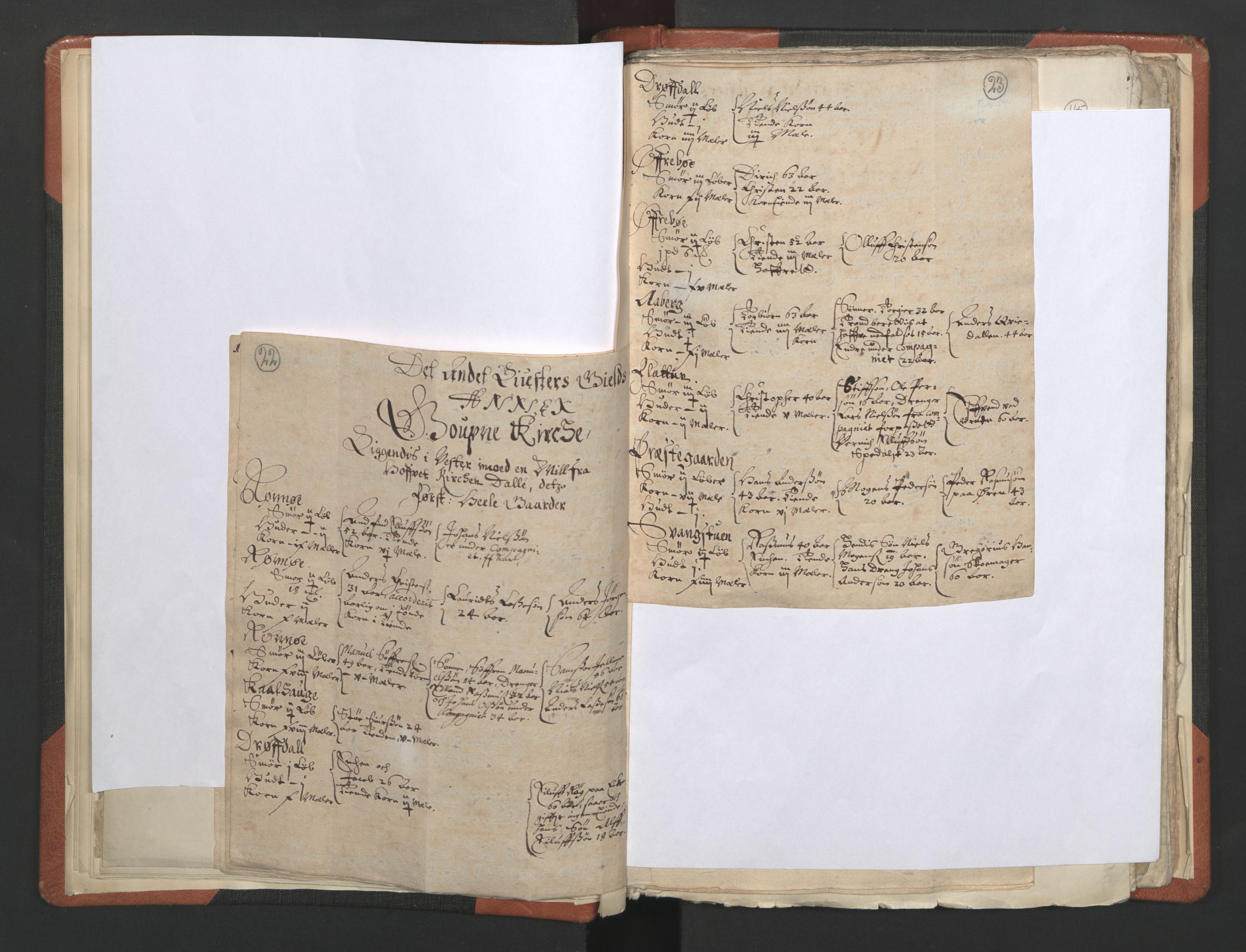 RA, Sogneprestenes manntall 1664-1666, nr. 23: Sogn prosti, 1664-1666, s. 22-23