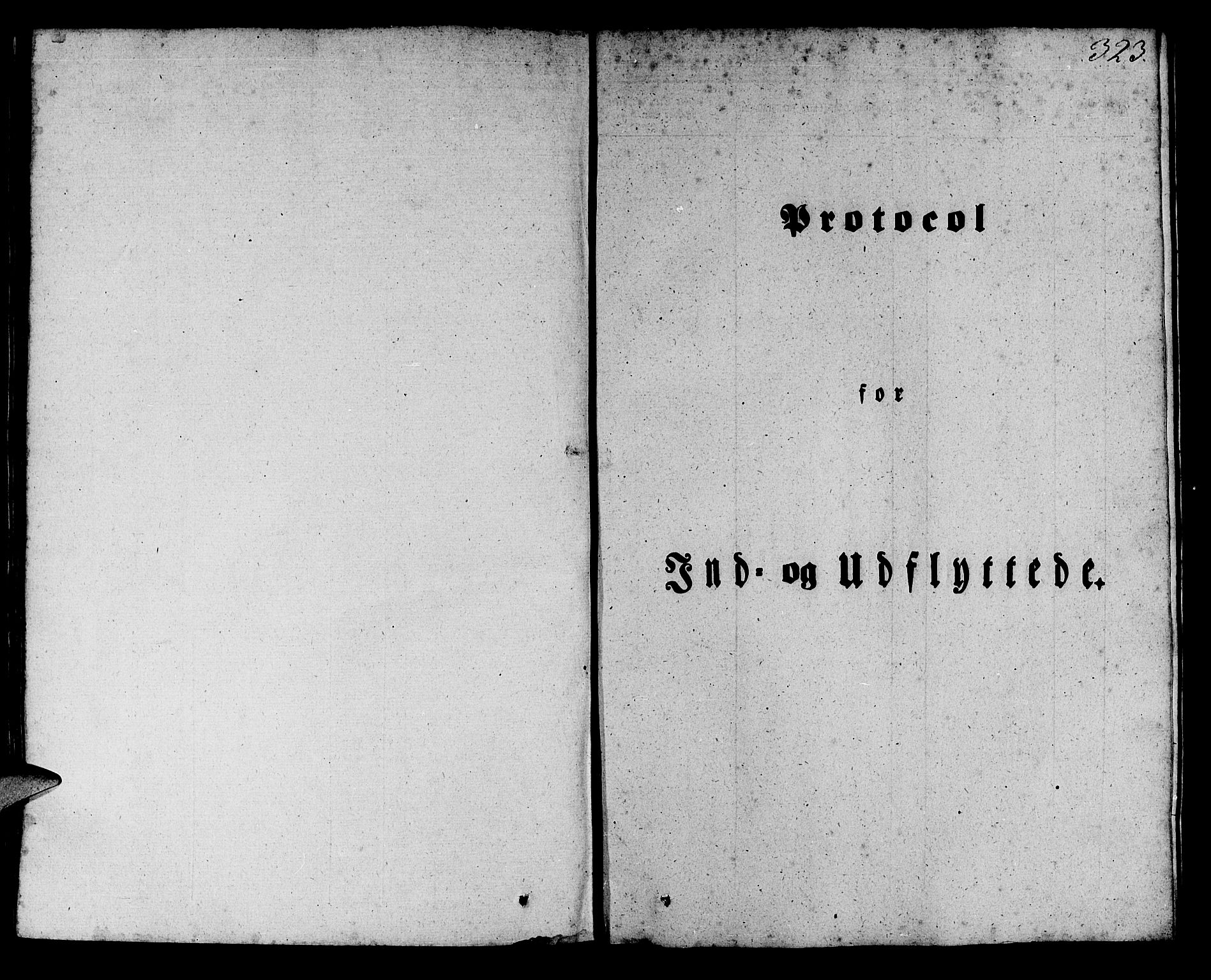 SAB, Manger sokneprestembete, H/Haa: Ministerialbok nr. A 5, 1839-1848, s. 323