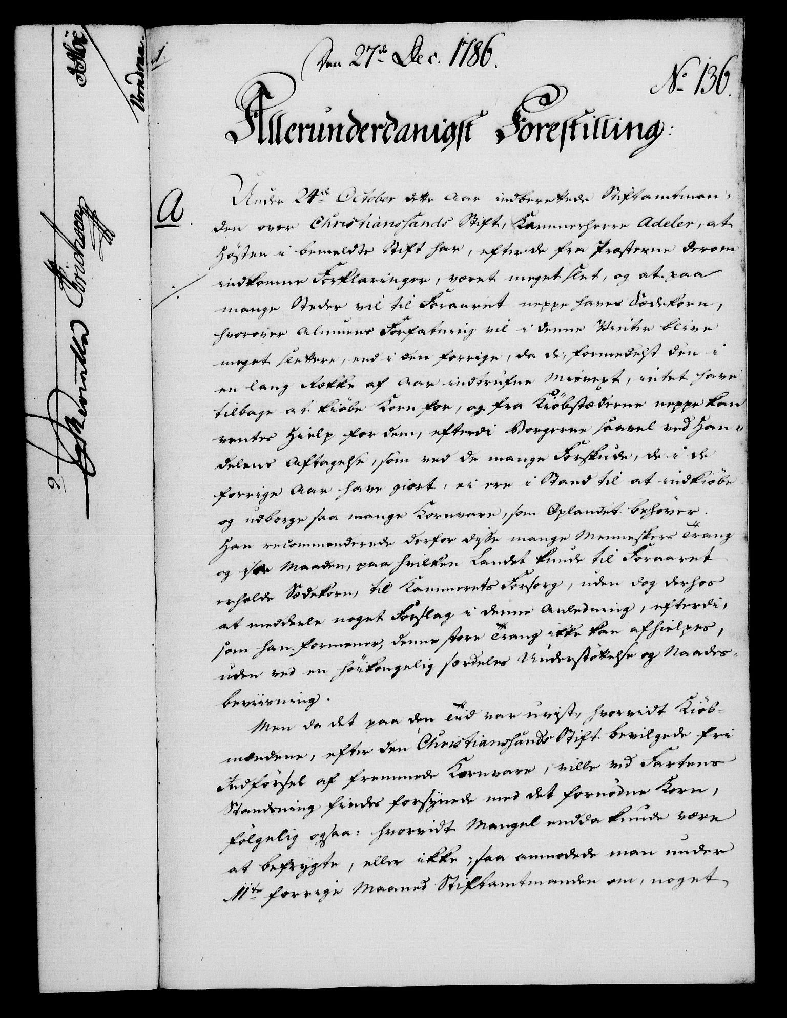 RA, Rentekammeret, Kammerkanselliet, G/Gf/Gfa/L0068: Norsk relasjons- og resolusjonsprotokoll (merket RK 52.68), 1786, s. 1075