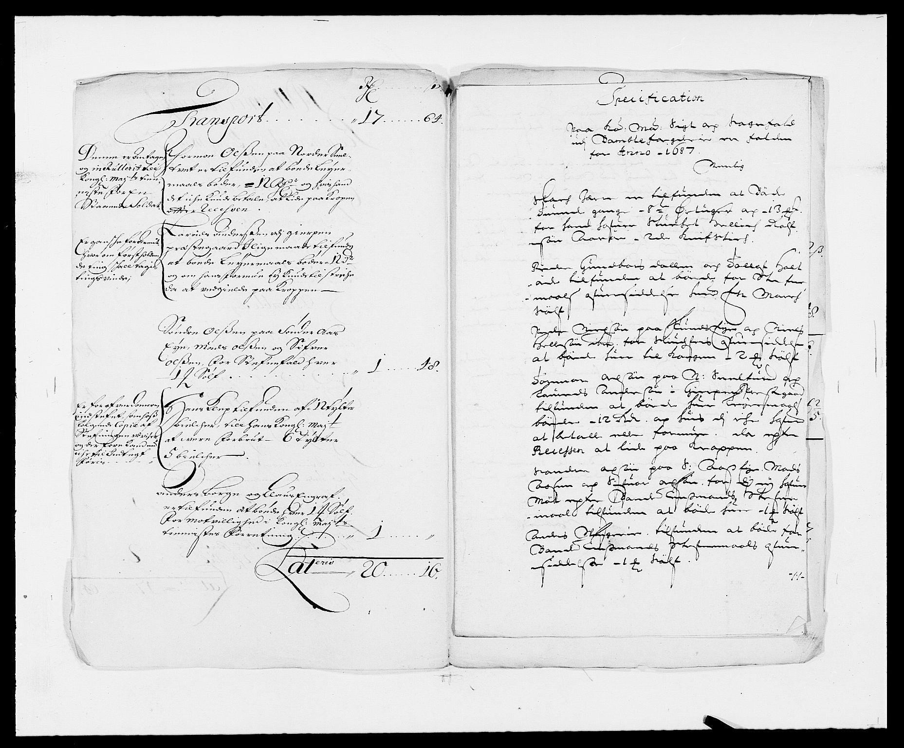 RA, Rentekammeret inntil 1814, Reviderte regnskaper, Fogderegnskap, R34/L2049: Fogderegnskap Bamble, 1685-1687, s. 256