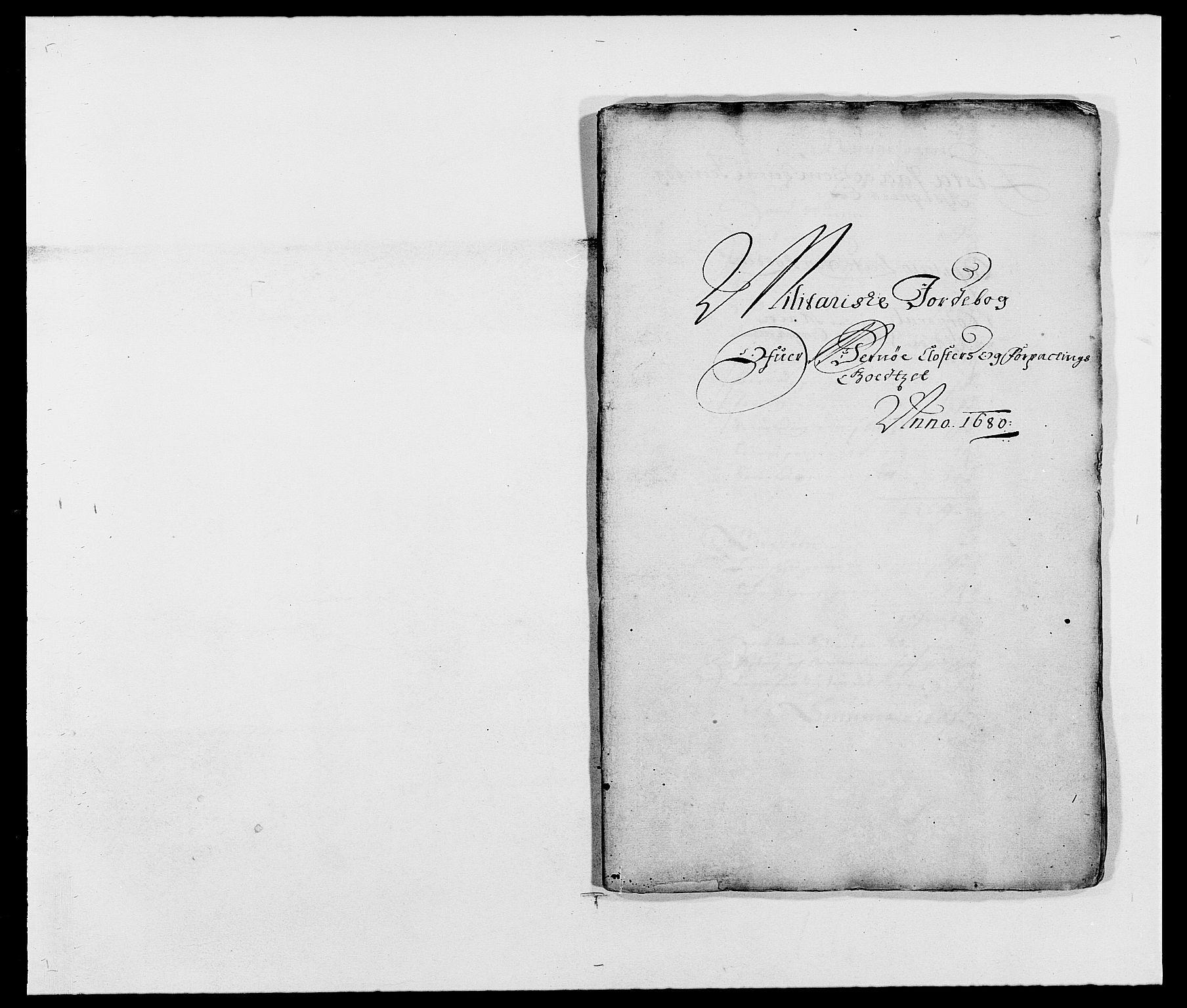RA, Rentekammeret inntil 1814, Reviderte regnskaper, Fogderegnskap, R02/L0101: Fogderegnskap Moss og Verne kloster, 1680, s. 291