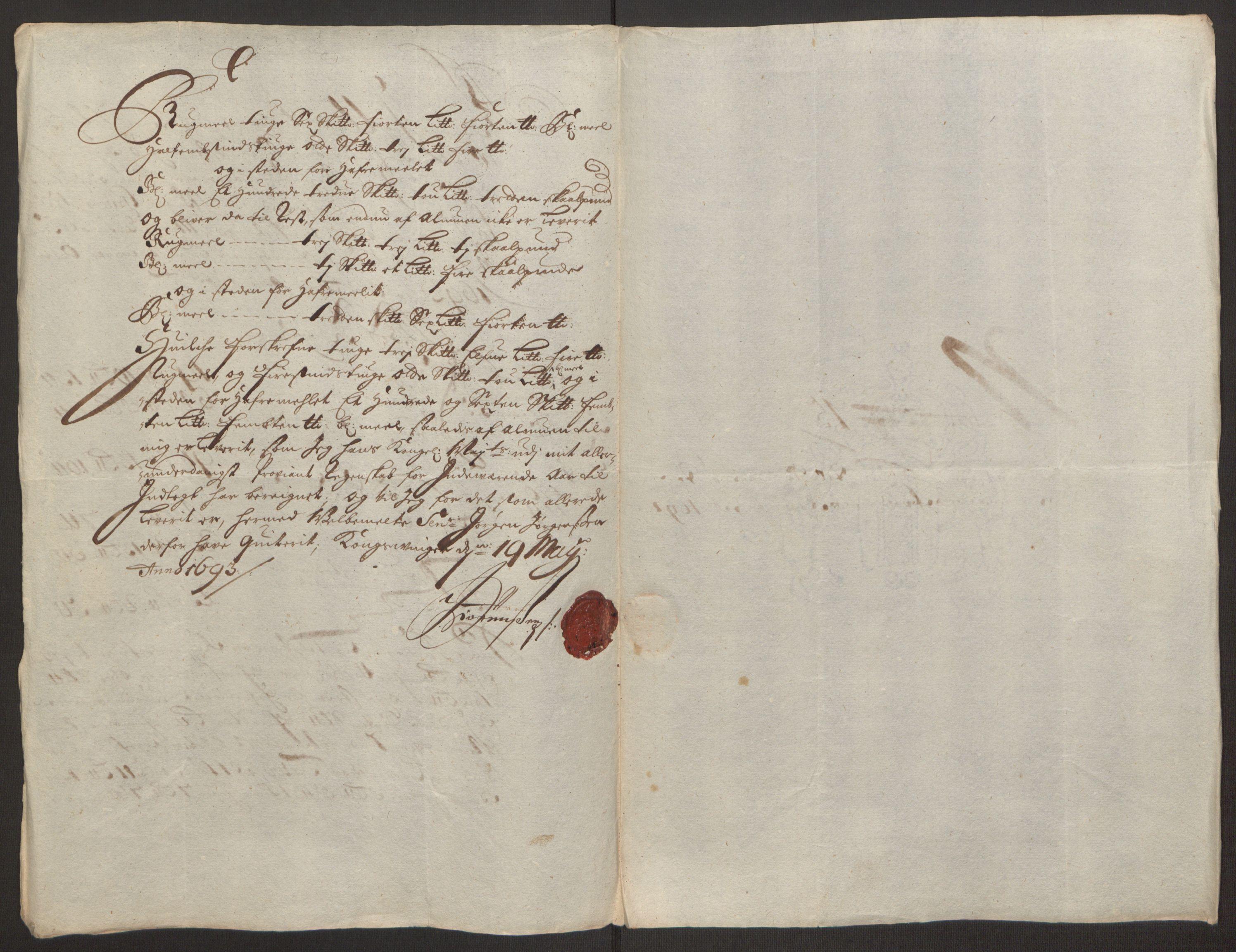 RA, Rentekammeret inntil 1814, Reviderte regnskaper, Fogderegnskap, R13/L0830: Fogderegnskap Solør, Odal og Østerdal, 1692, s. 346