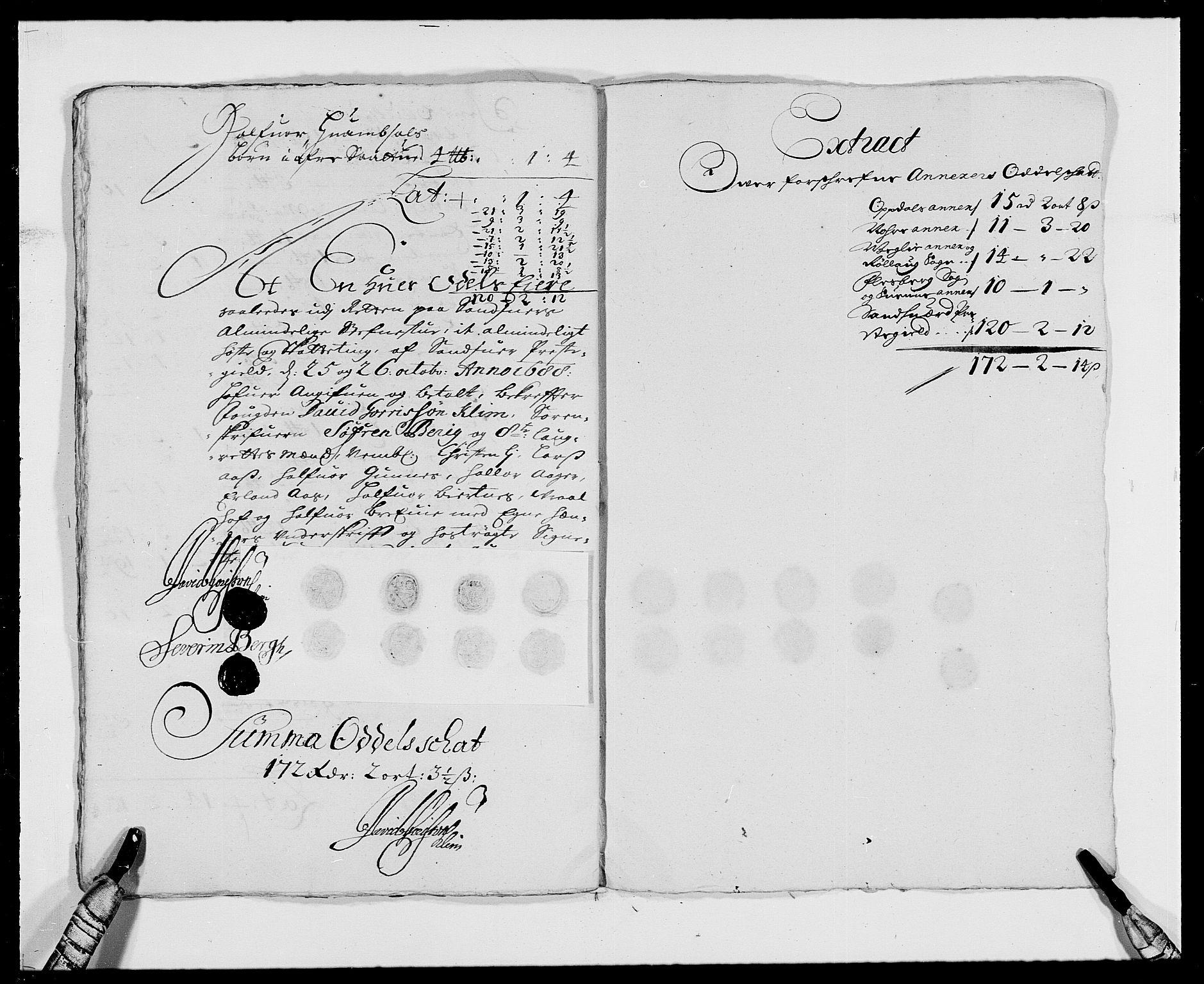 RA, Rentekammeret inntil 1814, Reviderte regnskaper, Fogderegnskap, R24/L1573: Fogderegnskap Numedal og Sandsvær, 1687-1691, s. 315