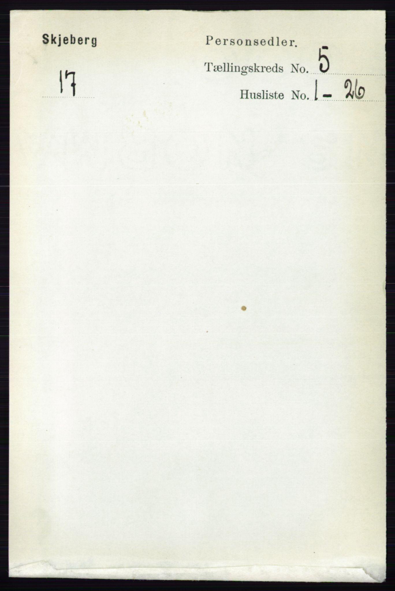 RA, Folketelling 1891 for 0115 Skjeberg herred, 1891, s. 2275
