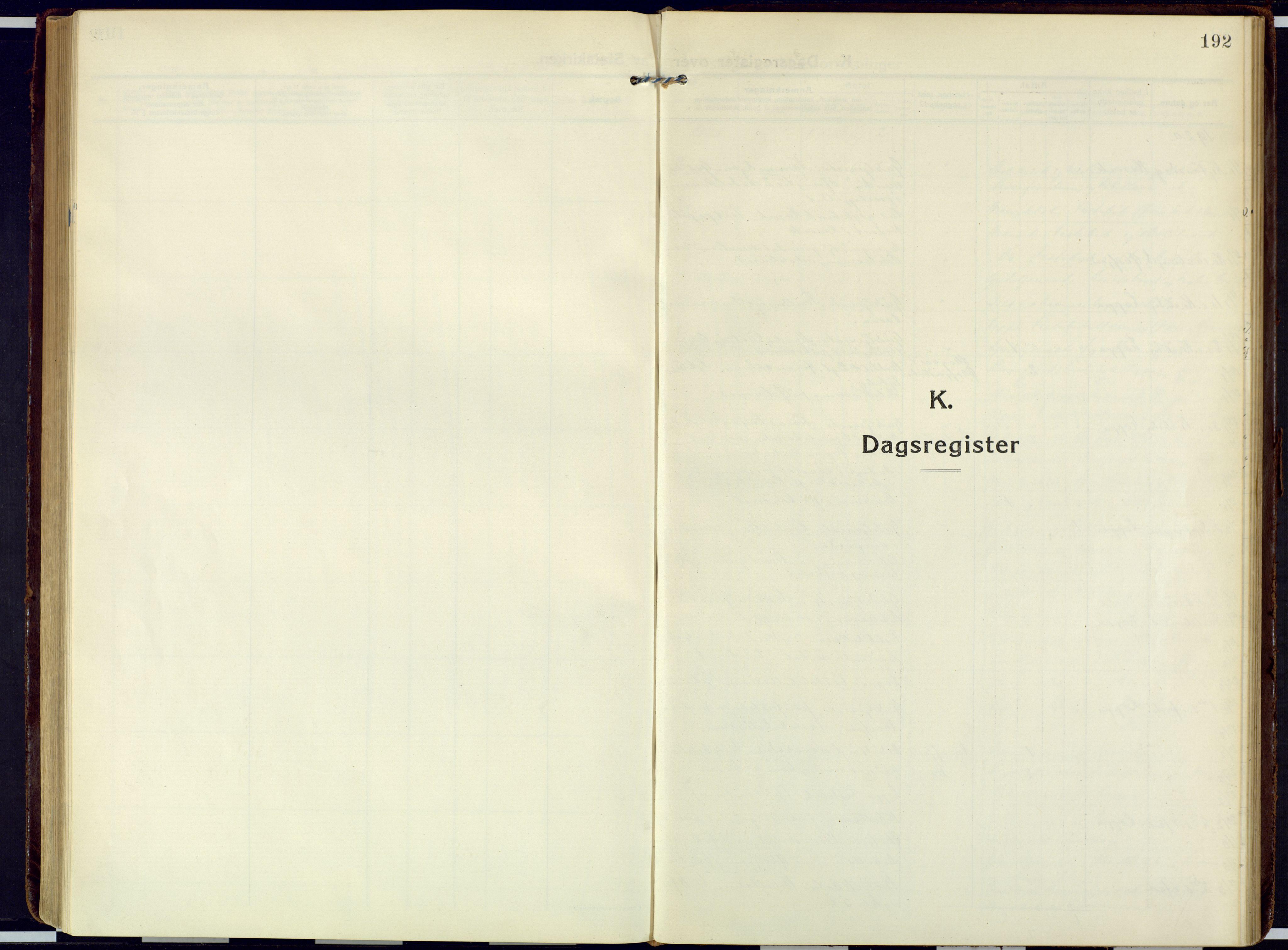 SATØ, Loppa sokneprestkontor, H/Ha/L0013kirke: Ministerialbok nr. 13, 1920-1932, s. 192