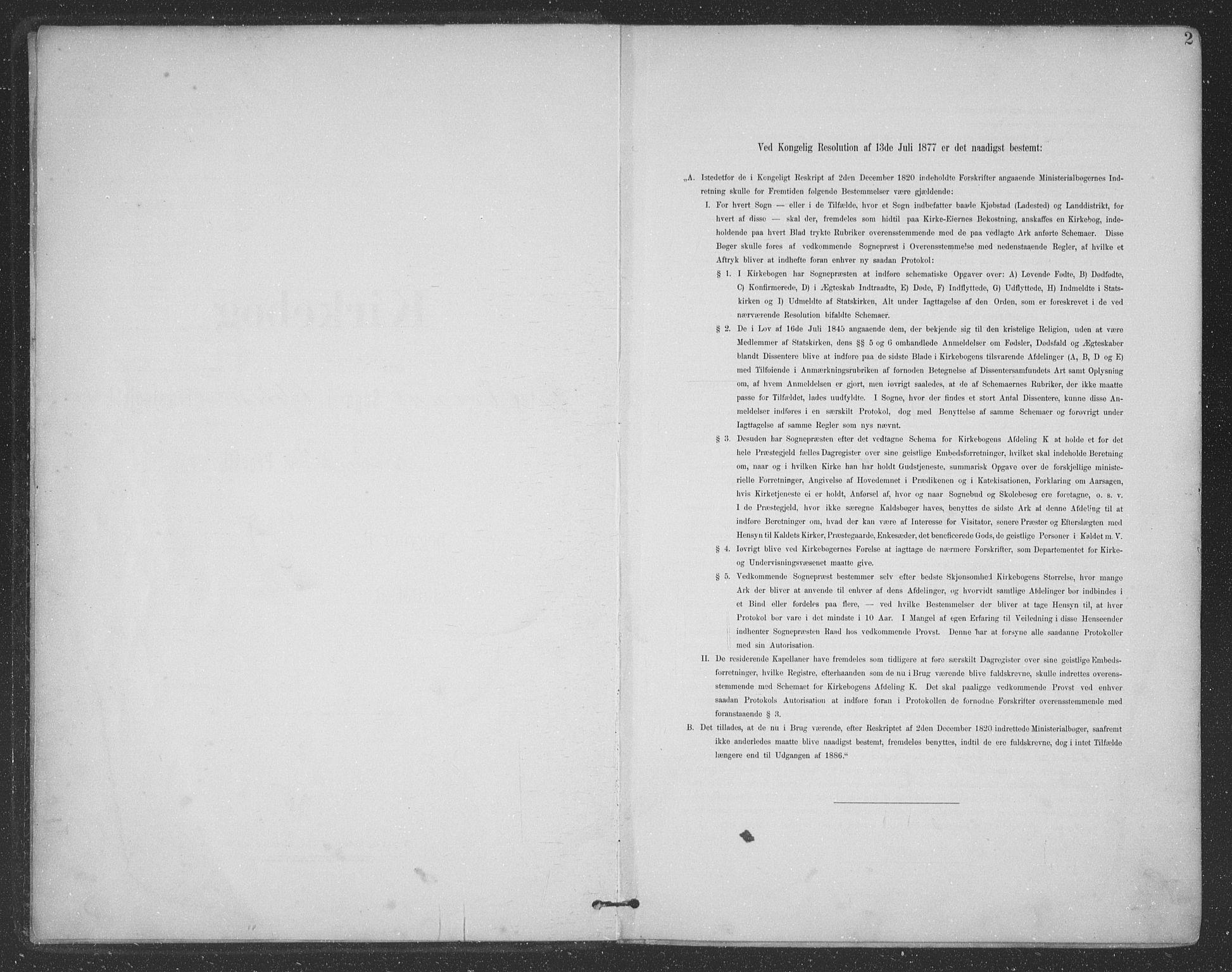 SAT, Ministerialprotokoller, klokkerbøker og fødselsregistre - Nordland, 863/L0899: Ministerialbok nr. 863A11, 1897-1906, s. 2