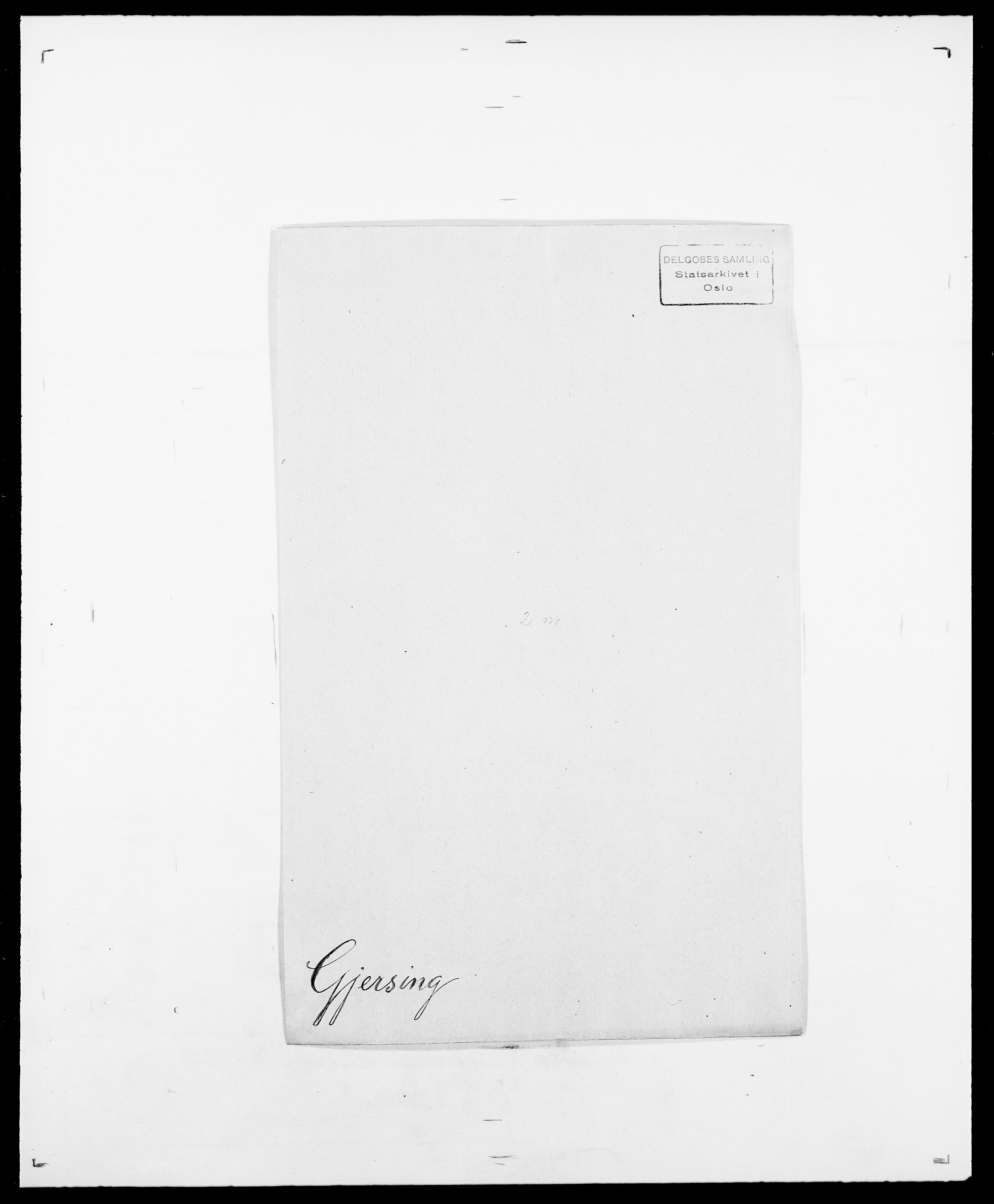 SAO, Delgobe, Charles Antoine - samling, D/Da/L0014: Giebdhausen - Grip, s. 151