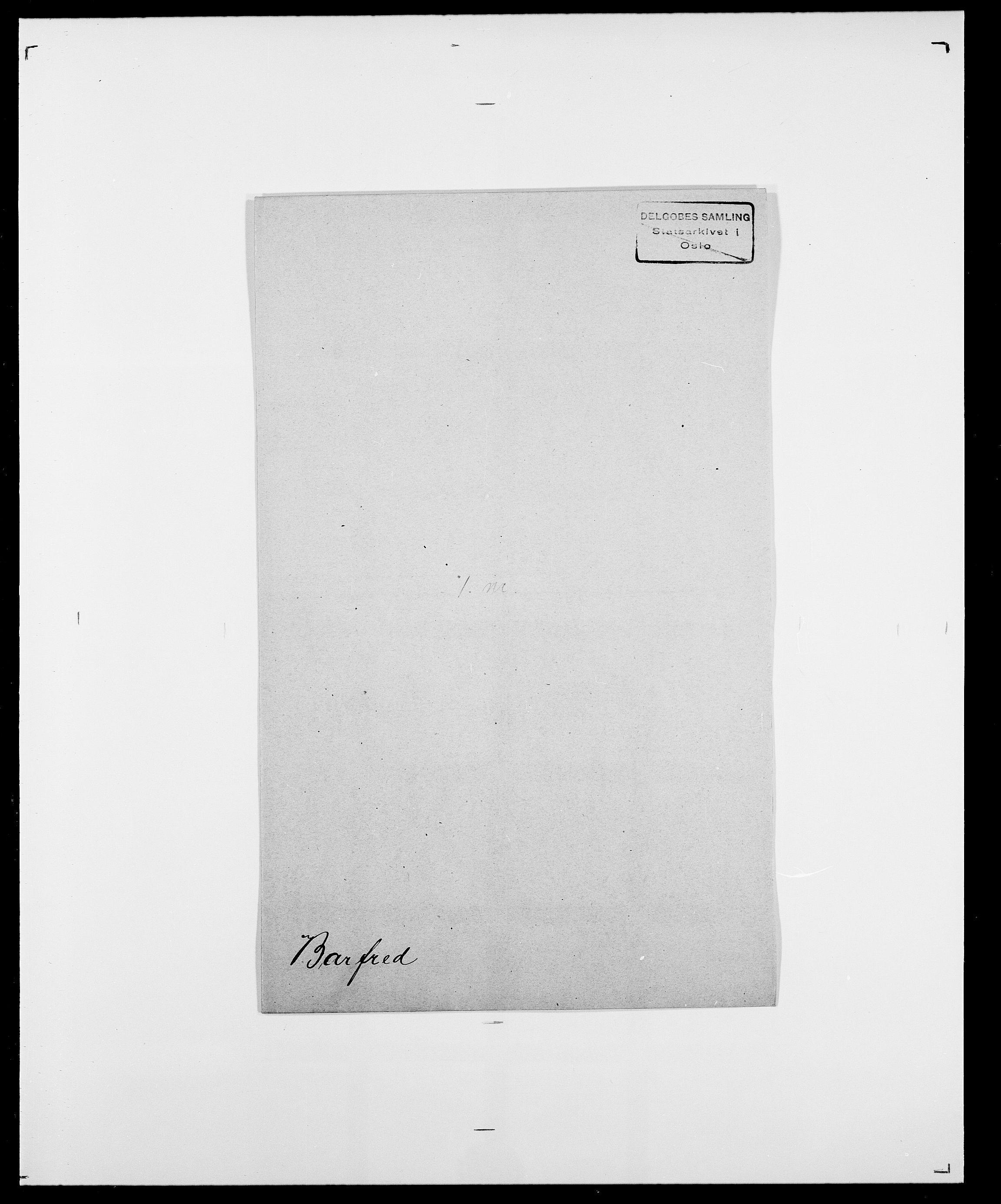 SAO, Delgobe, Charles Antoine - samling, D/Da/L0003: Barca - Bergen, s. 339