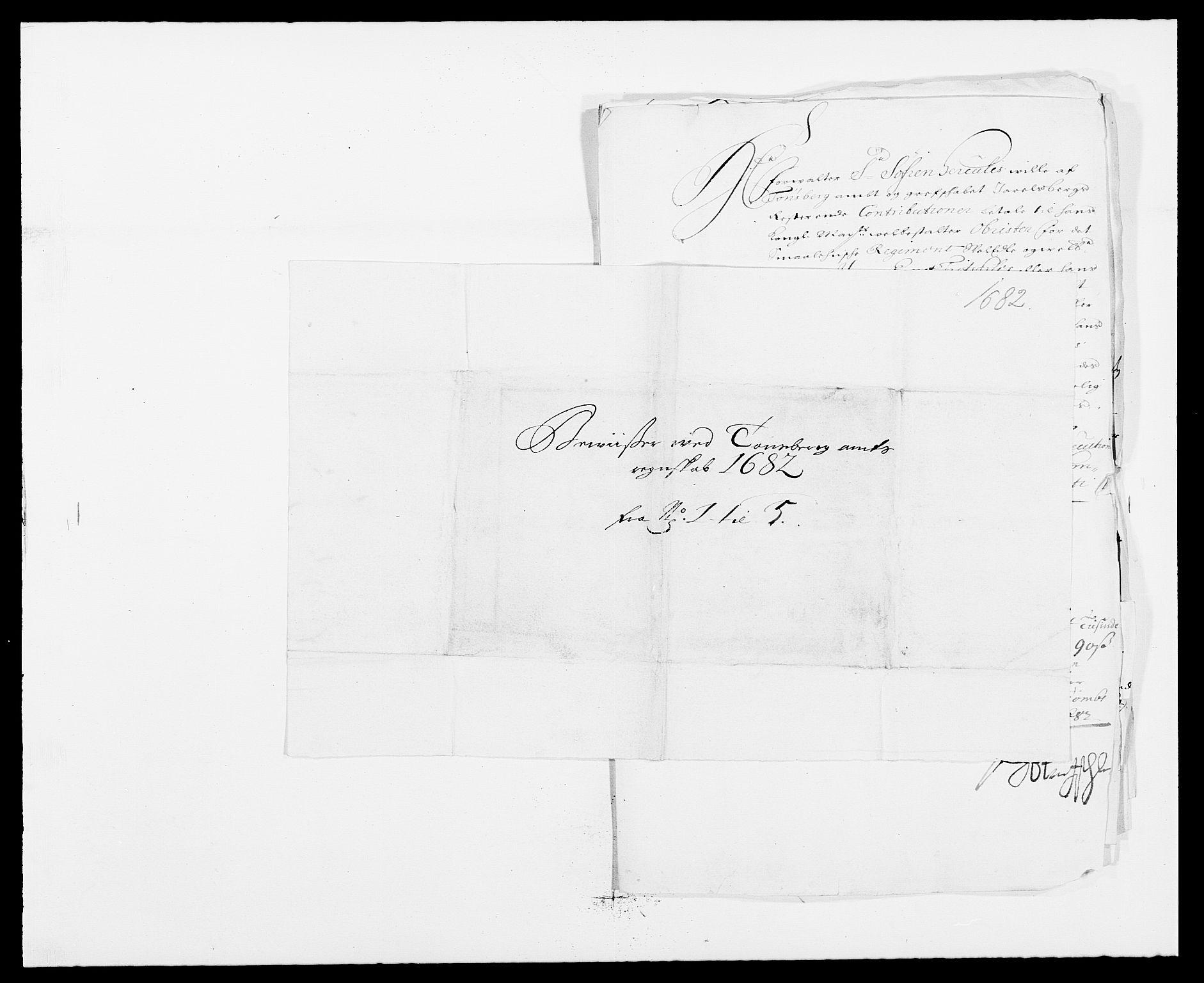 RA, Rentekammeret inntil 1814, Reviderte regnskaper, Fogderegnskap, R32/L1851: Fogderegnskap Jarlsberg grevskap, 1682, s. 321